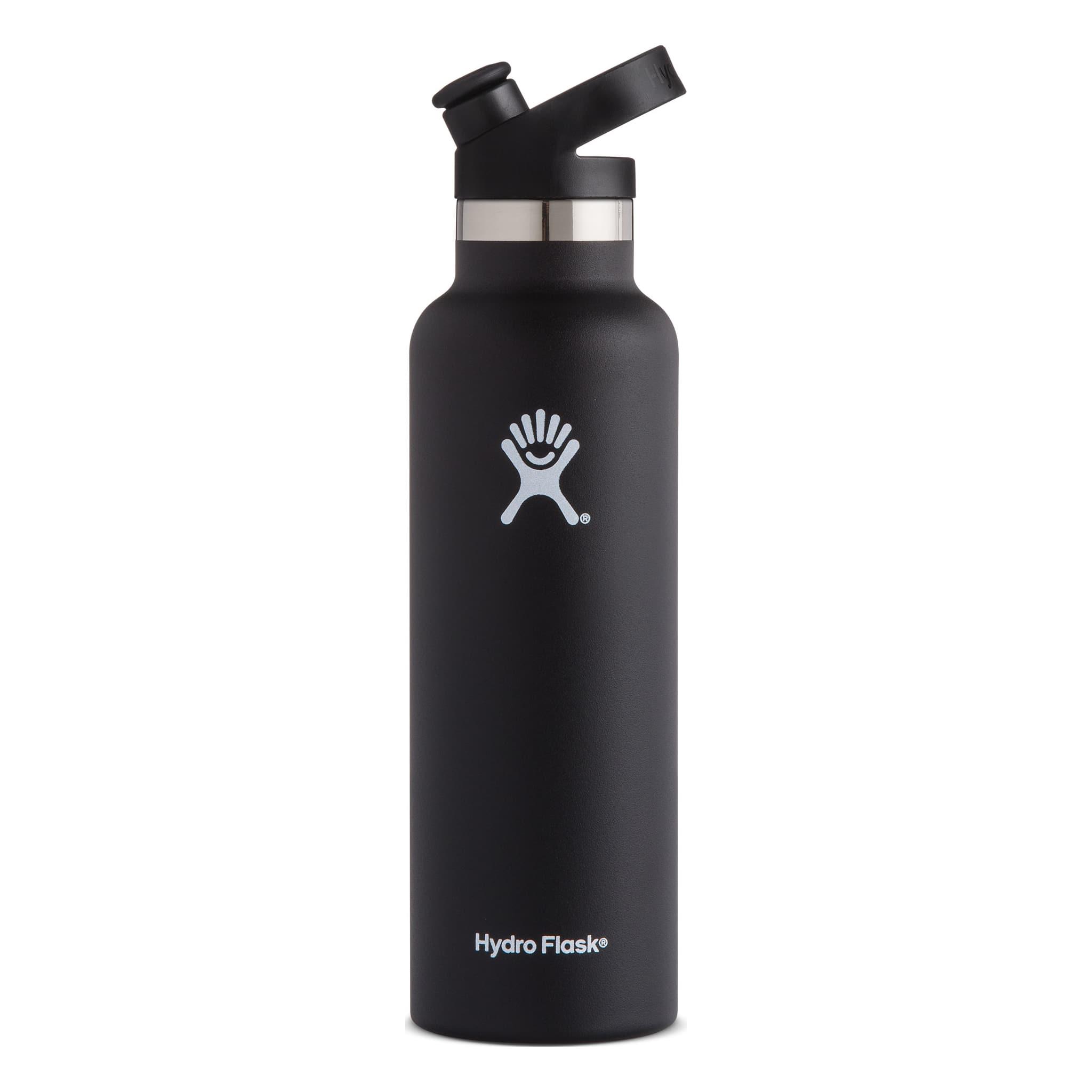 Allsidig stålflaske med isolert lokk med drikketut