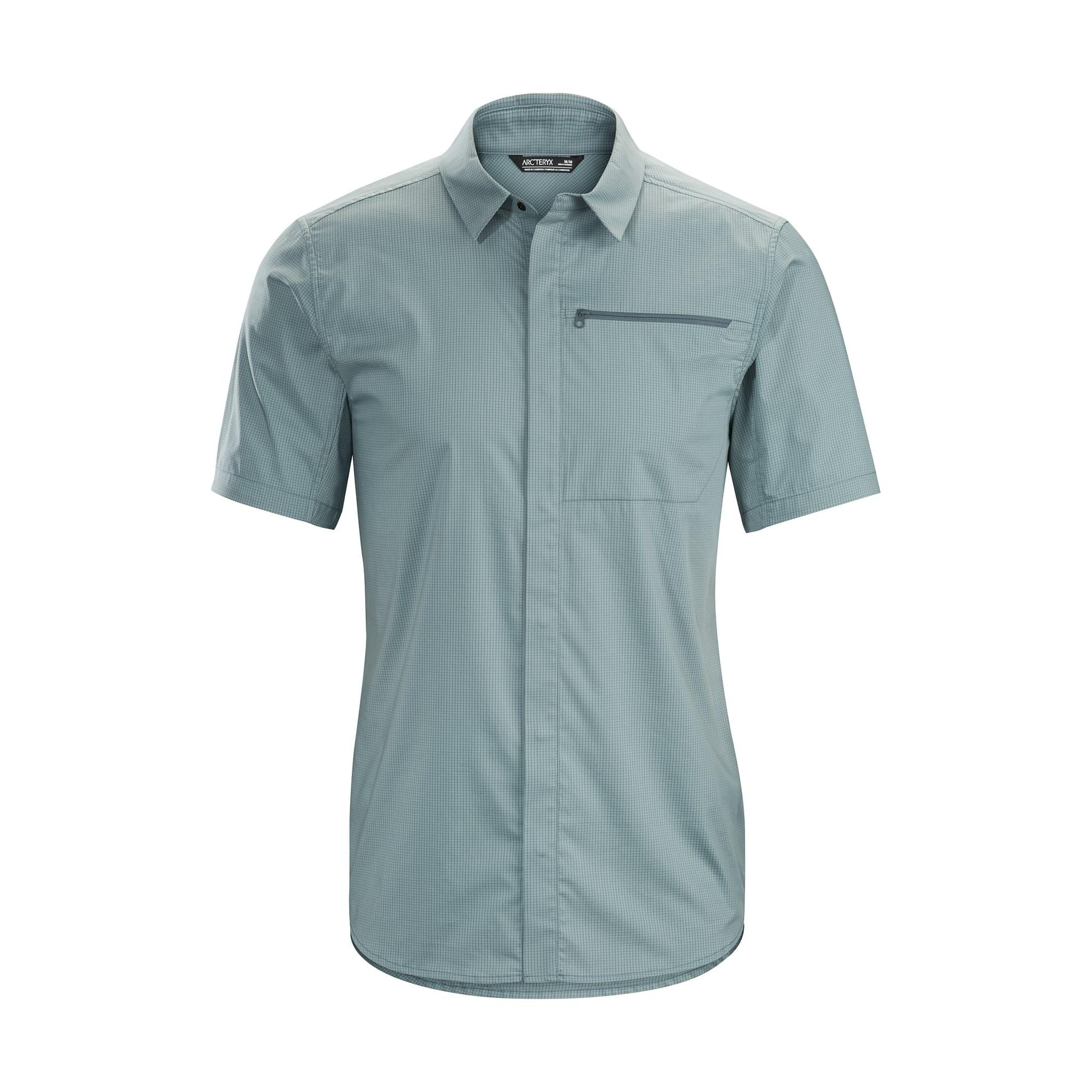 Casual kort-ermet skjorte
