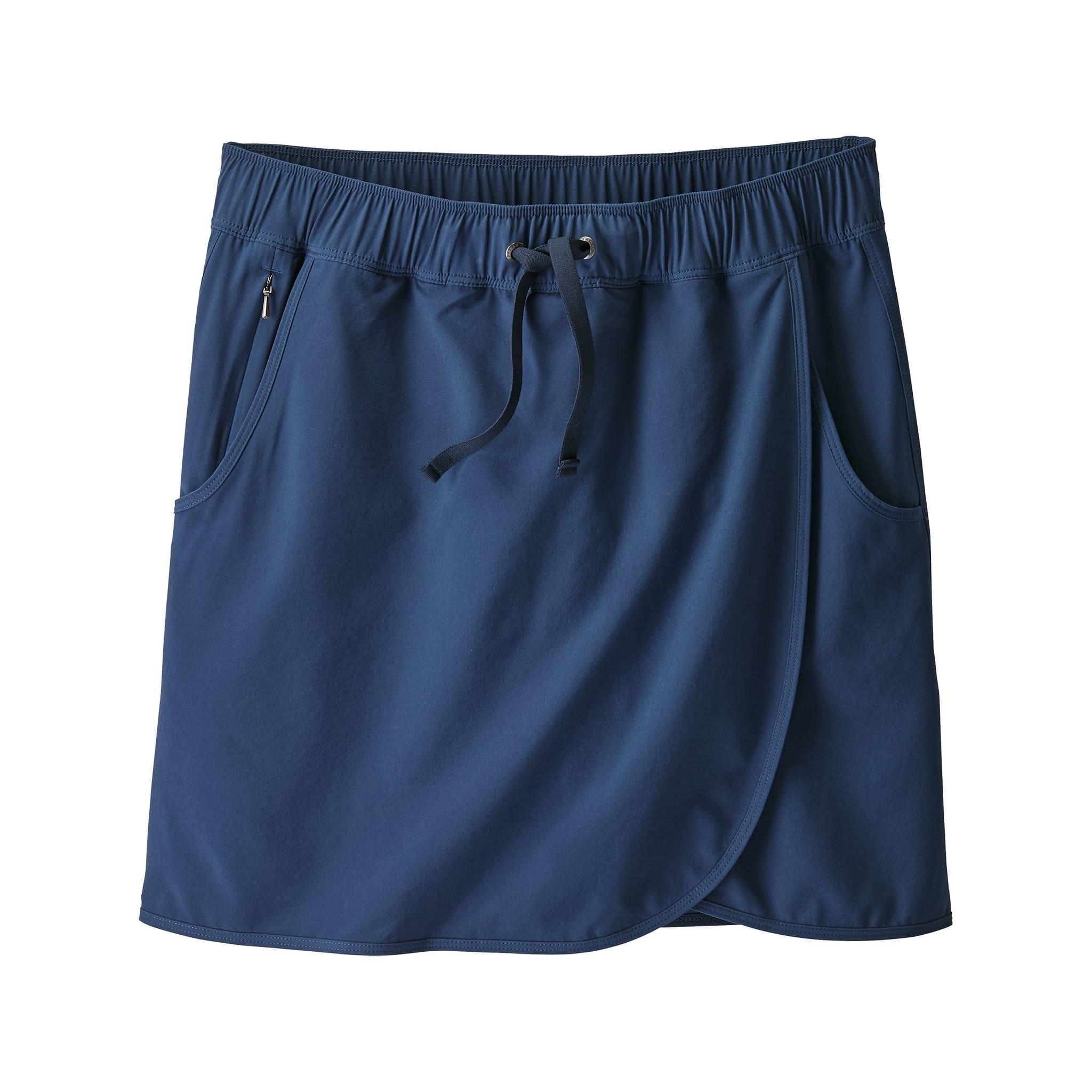 Lett skjørt med innvending shorts
