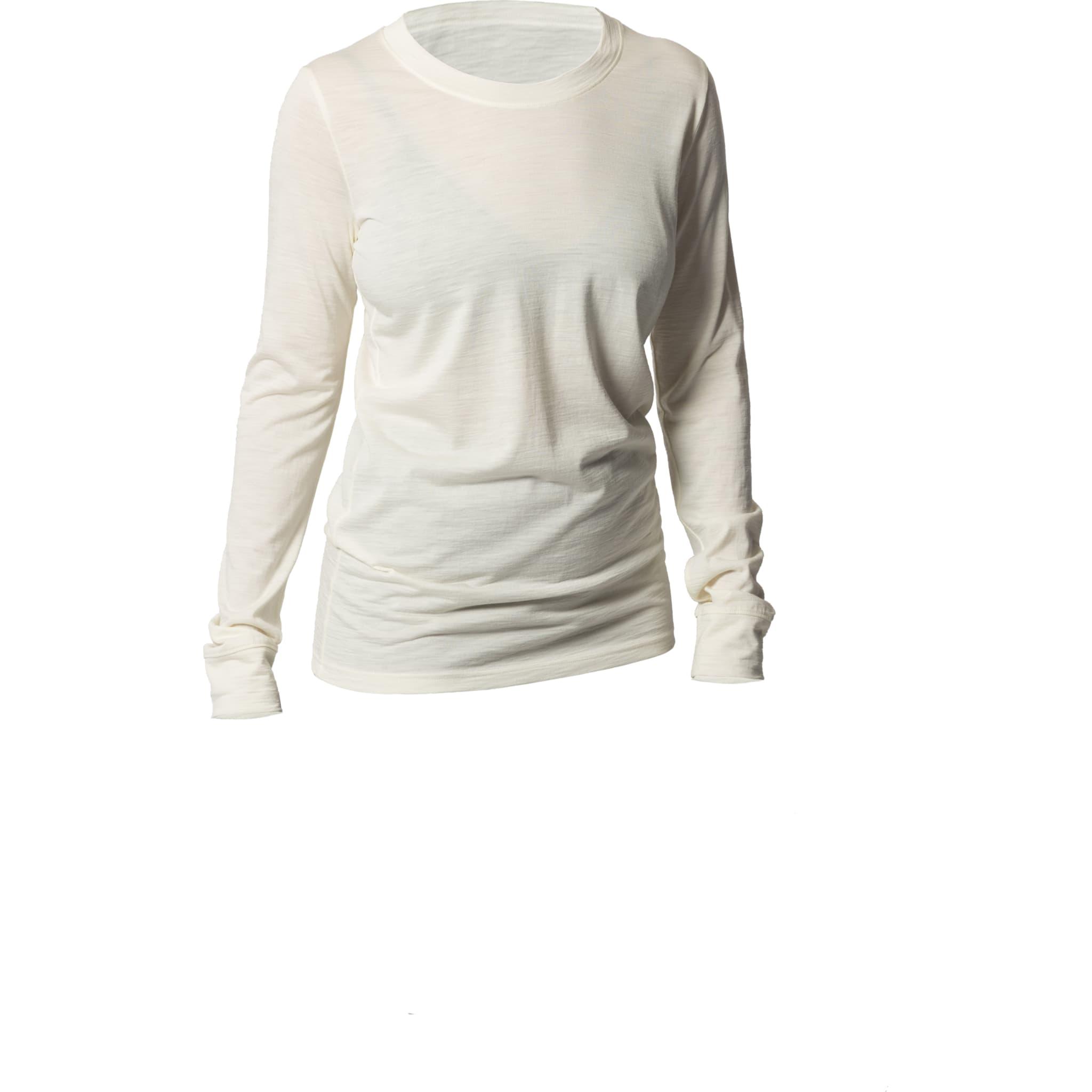 Langermet trøye i ull silke