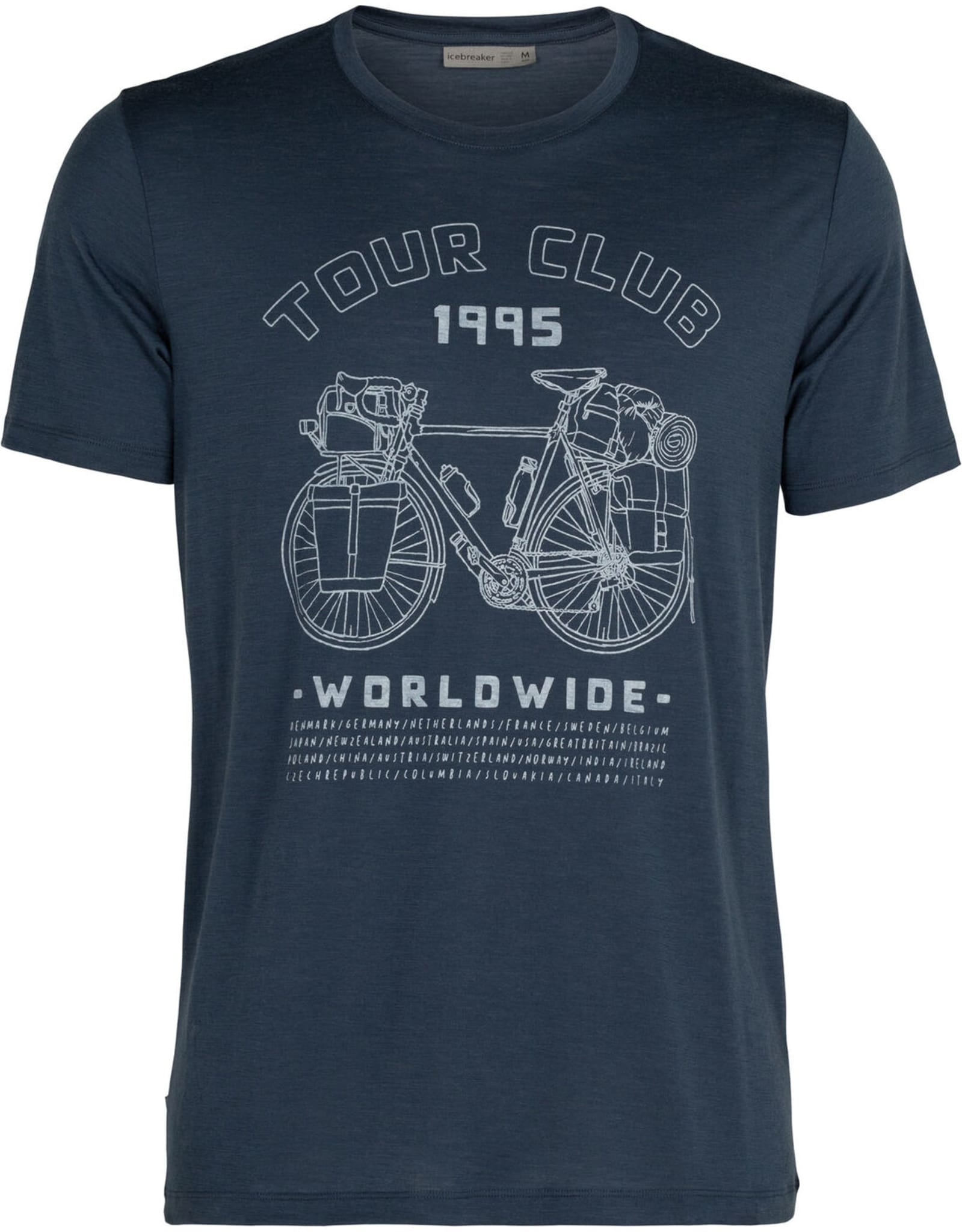 Allsidig og behagelig t-skjorte i merinoull fra Icebreaker.