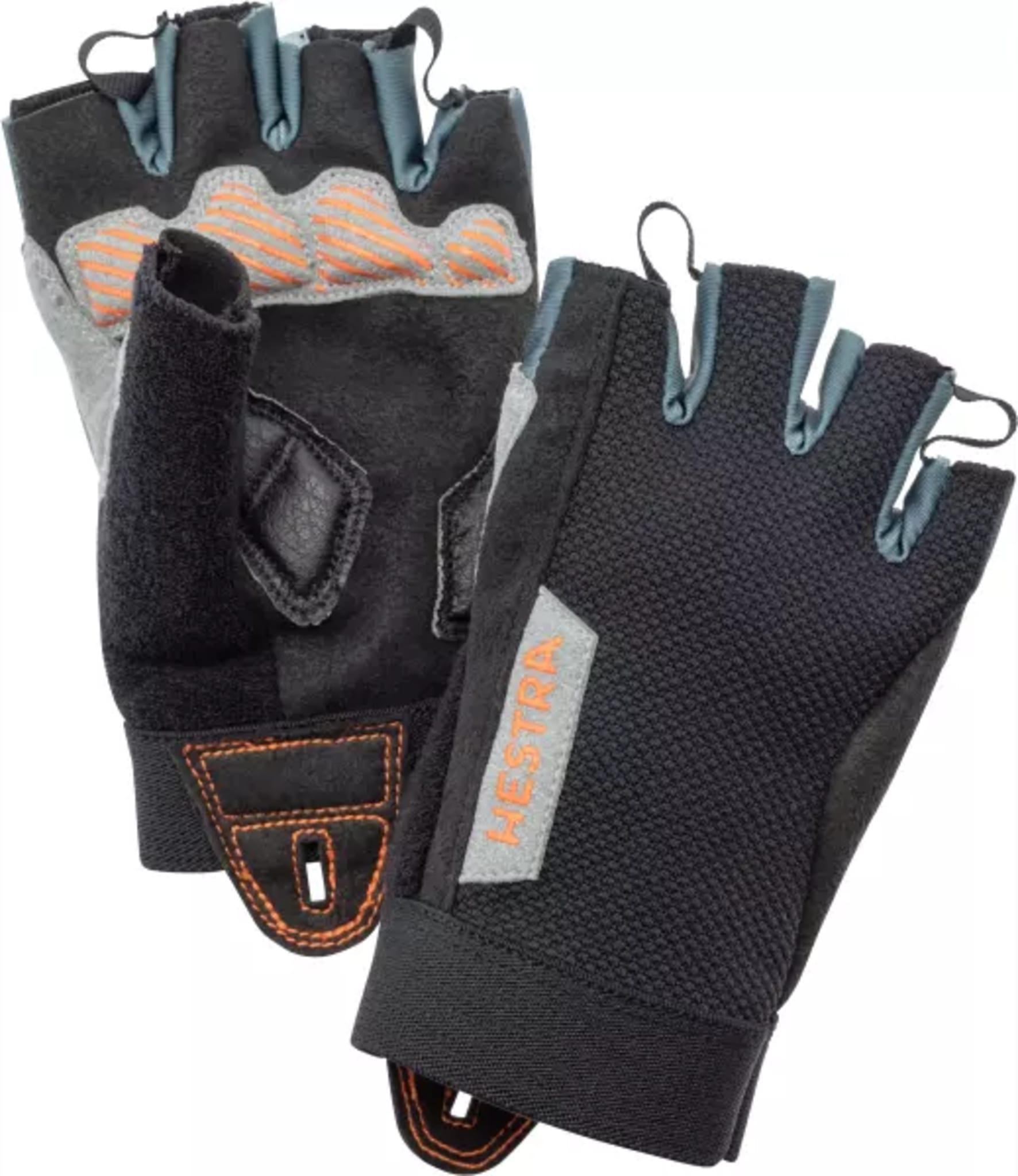 Sykkelhansker med Tacky Grip og Gel padding på håndflaten for godt grep og støtdemping
