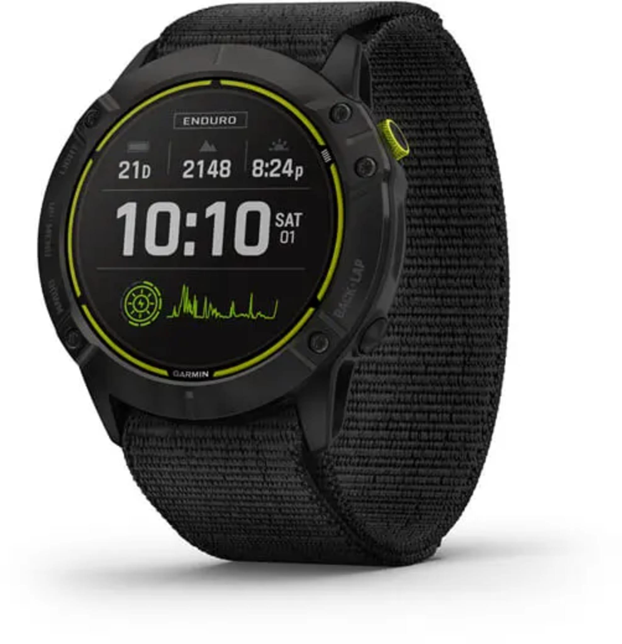 GPS-multisportklokken Enduro er designet for ultraløperen