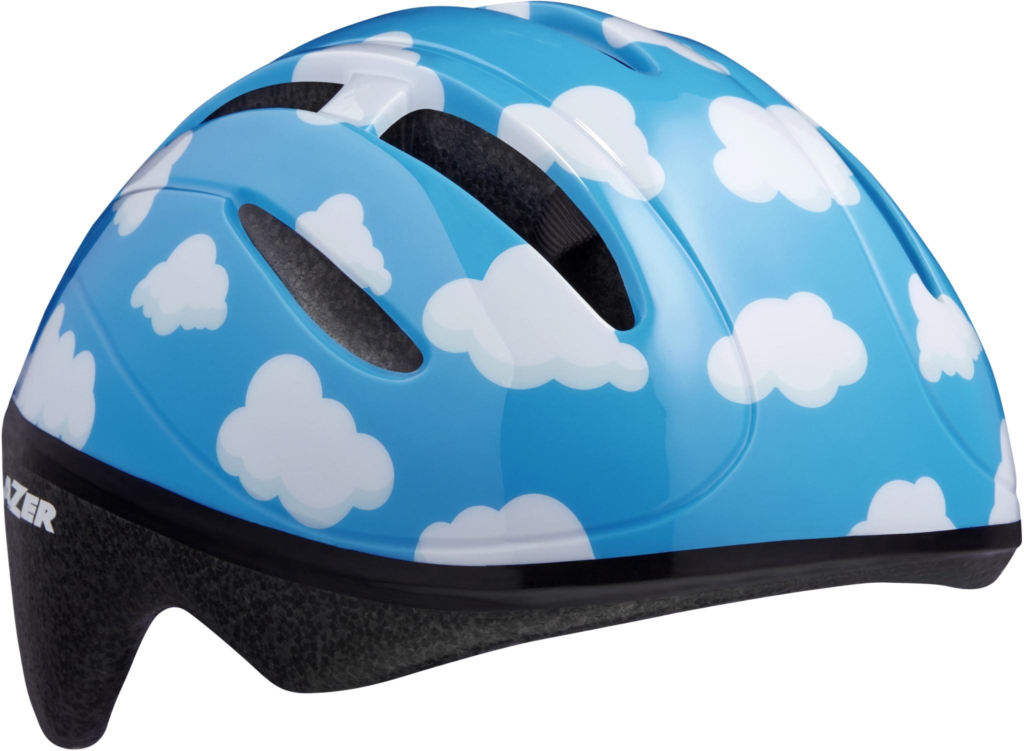Bob sykkelhjelm gir sikkerhet for barnet selv om han eller hun bare sitter i en sykkevogn eller i barnesete
