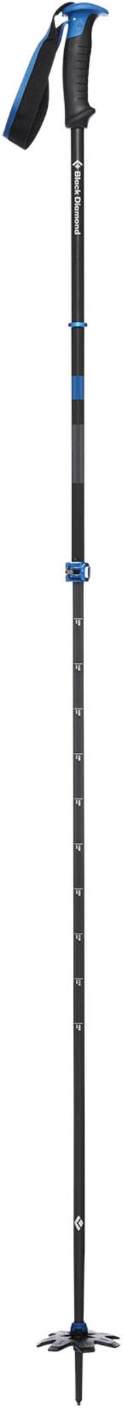 Solid aluminiumsstav med mulighet for uløsning av stroppene
