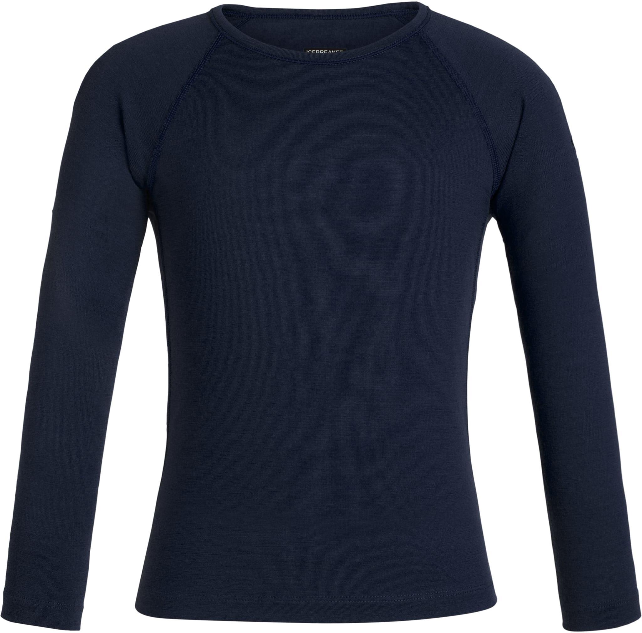 Den klassiske ullskjorta til Icebreaker til barn og ungdom