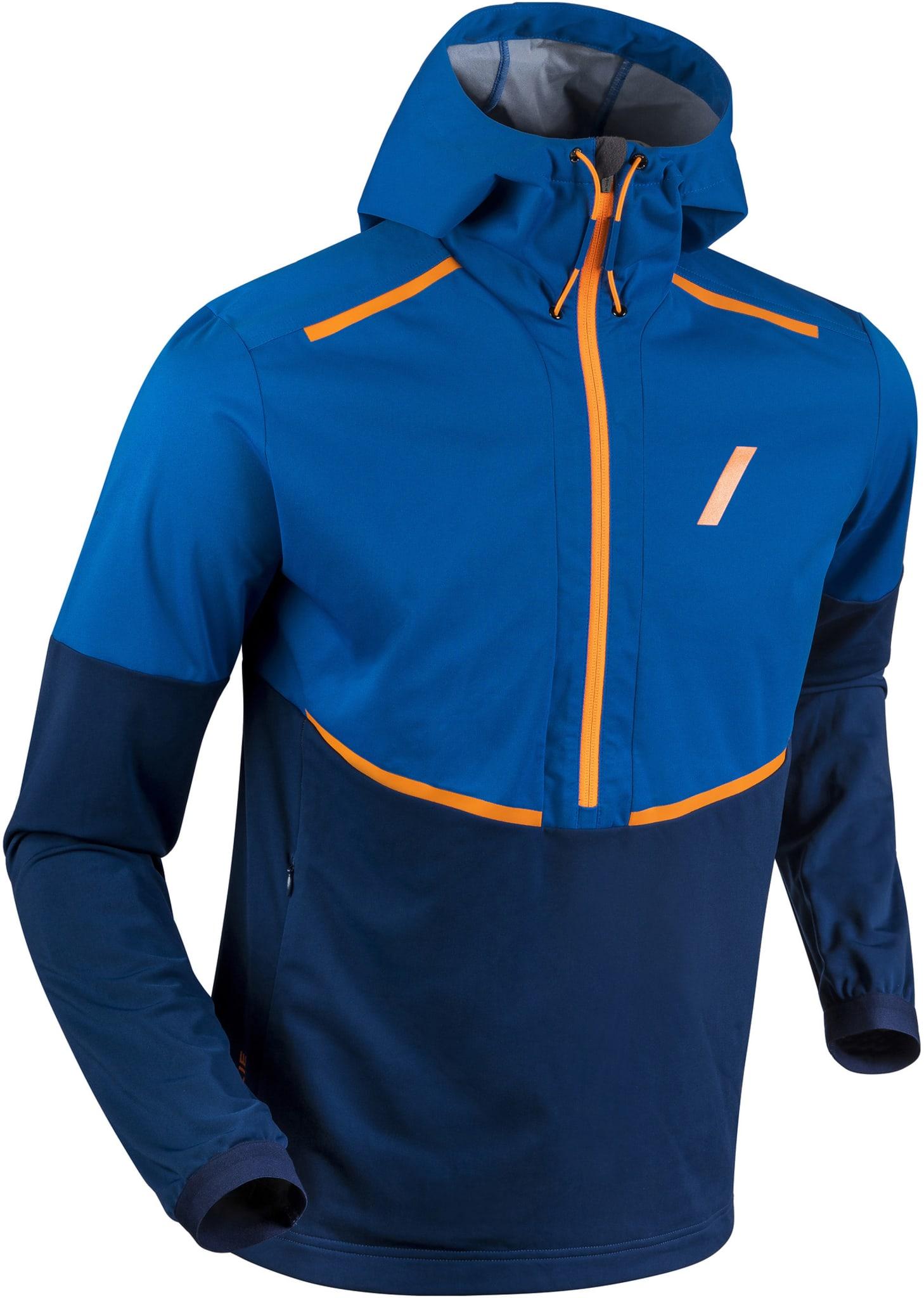 Treningsjakke for de litt kaldere dagene, beskyttelse mot vær og vind - samt gode pusteegenskaper.