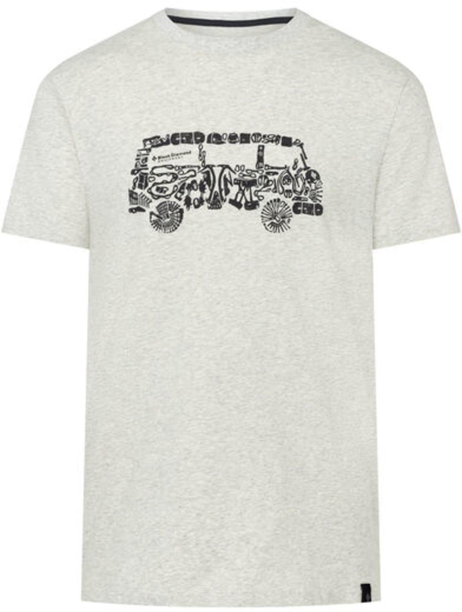 T-skjorte i organisk bomull med stretch