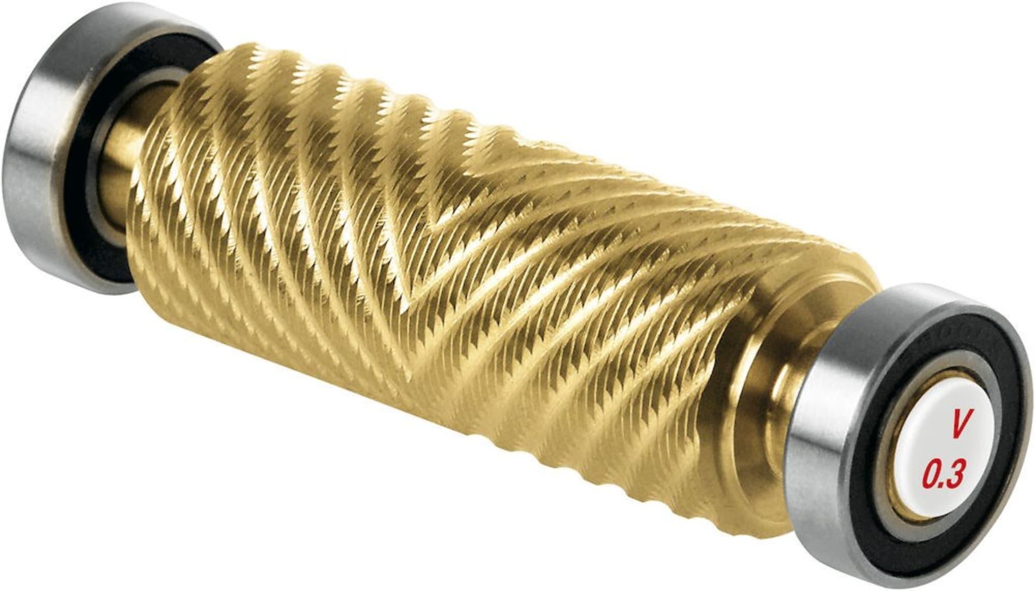 Strukturvalse 0,3 mm V-mønster til strukturverktøy. (T0423)