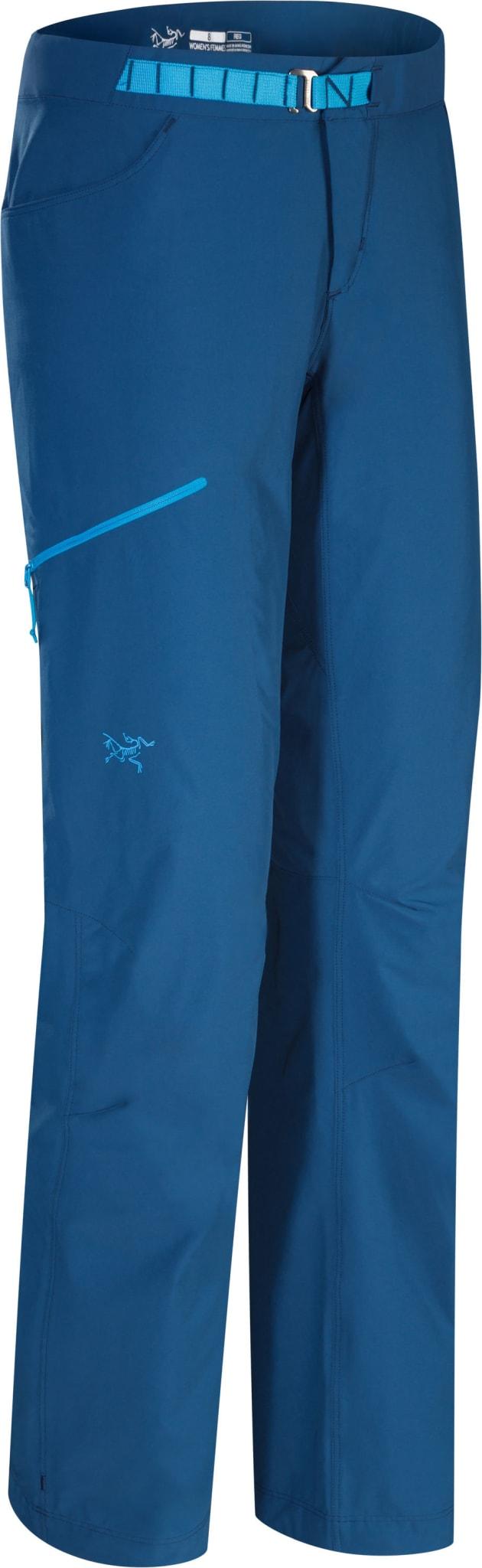 Lett softshell-bukse for tur og lange klatreturer