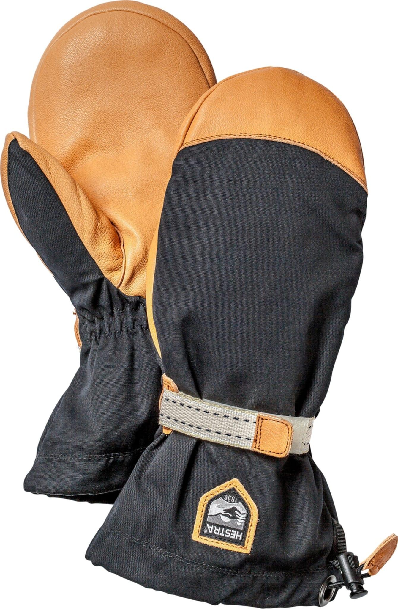 Klassisk fjellvott med innervott i ull