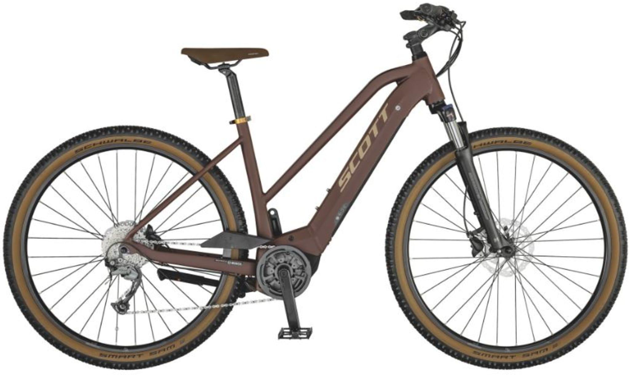 Suveren sykkel for forskjellige underlagene man normalt møter på sine turer