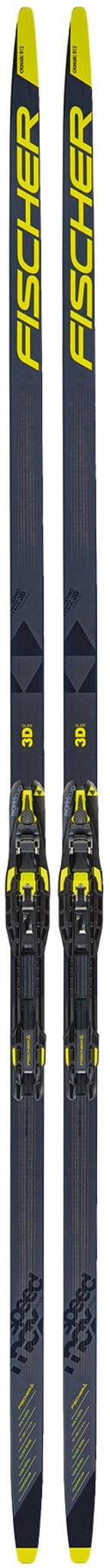 Speedmax klassisk ski med kortere trykkpunkter!