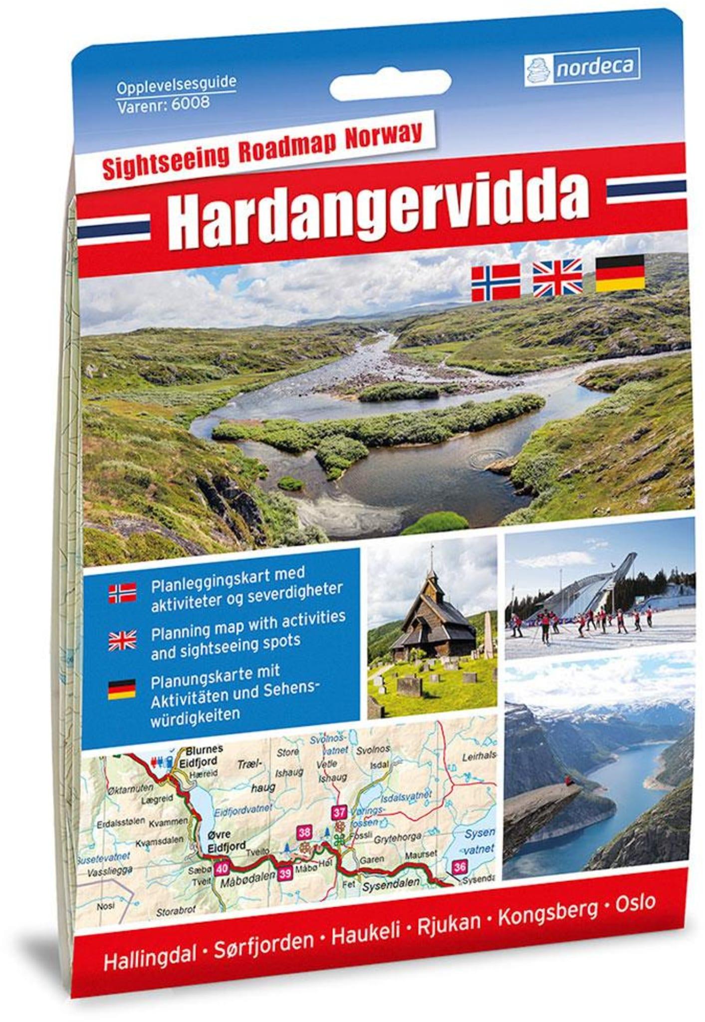 Hardangervidda m/hefte