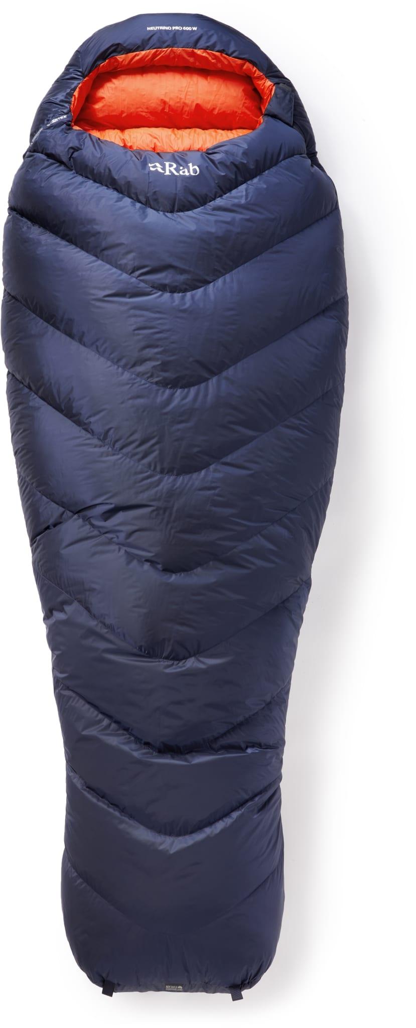 Rask og vannavvisende sovepose til alpint bruk