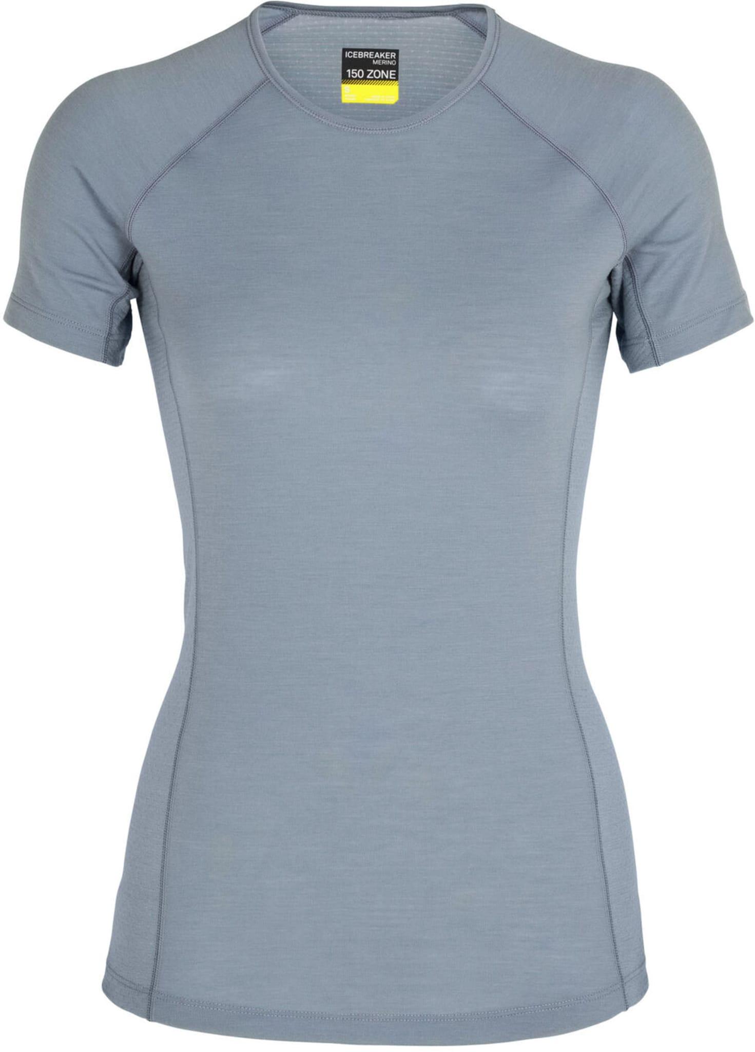 T-skjorte som kombinerer tynn ull og paneler med ullnetting på strategiske steder som under armene.
