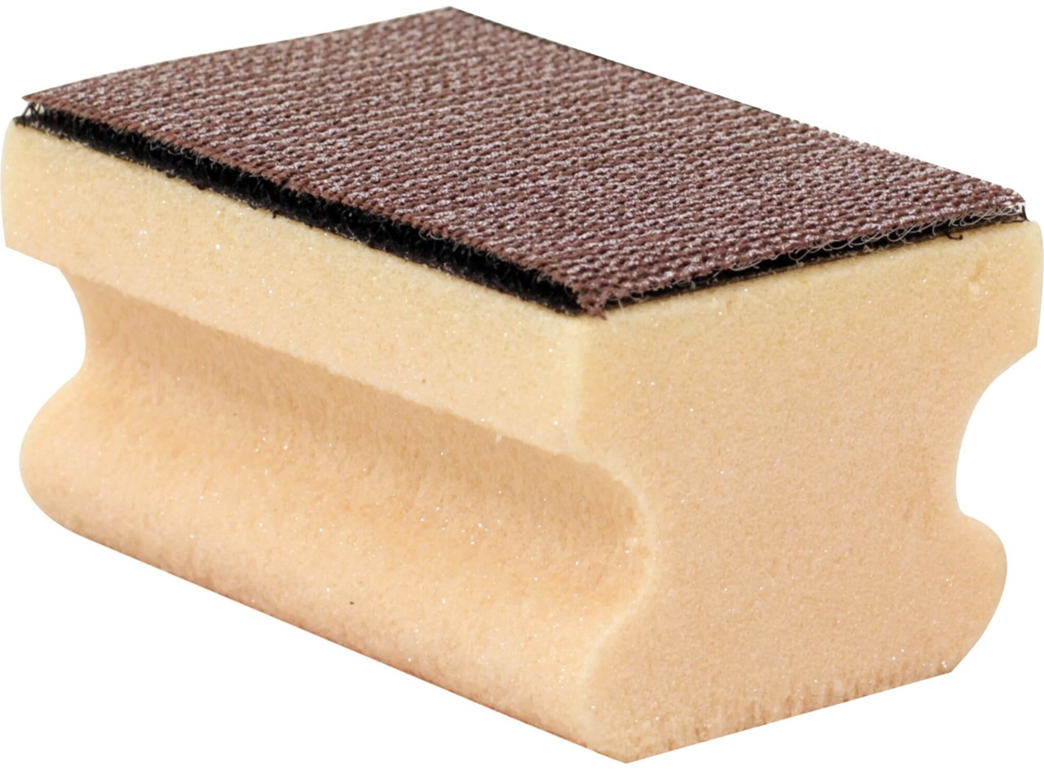 Kork med borrelås til sandpapir