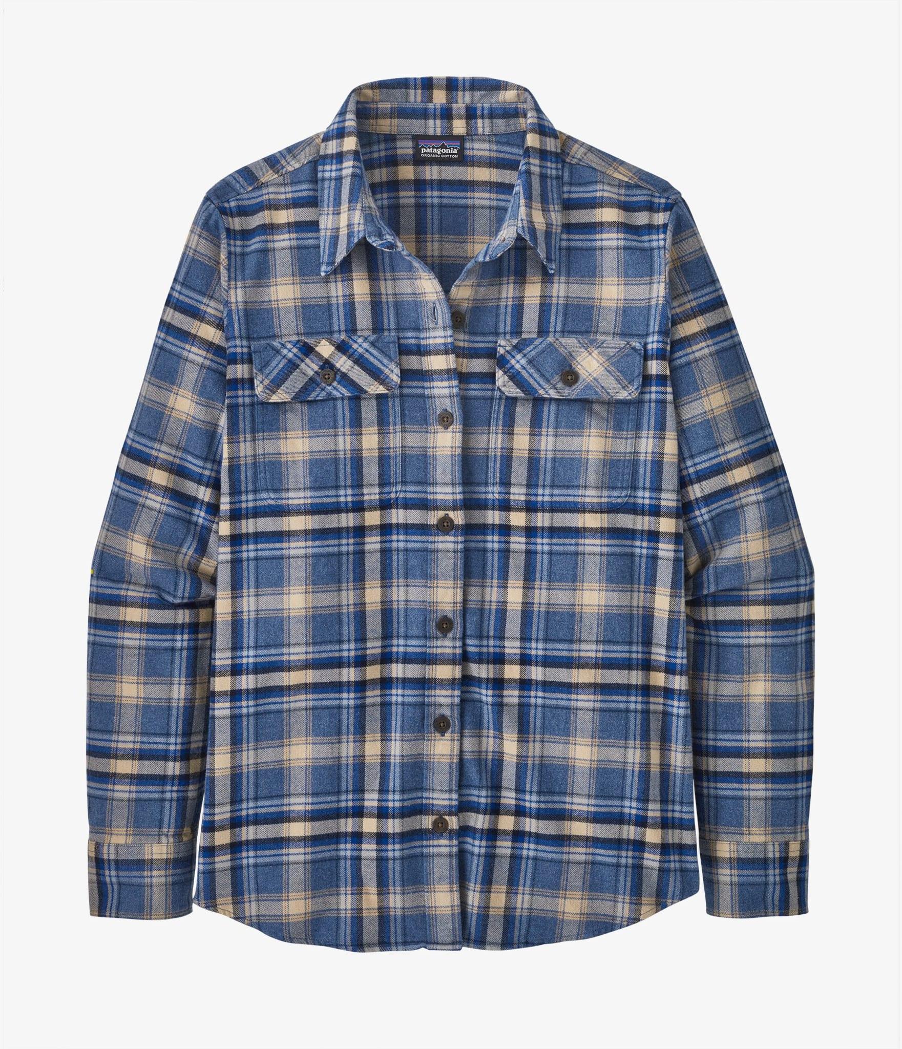 L/S Organic Cotton MW Fjord Flannel Shirt Ws