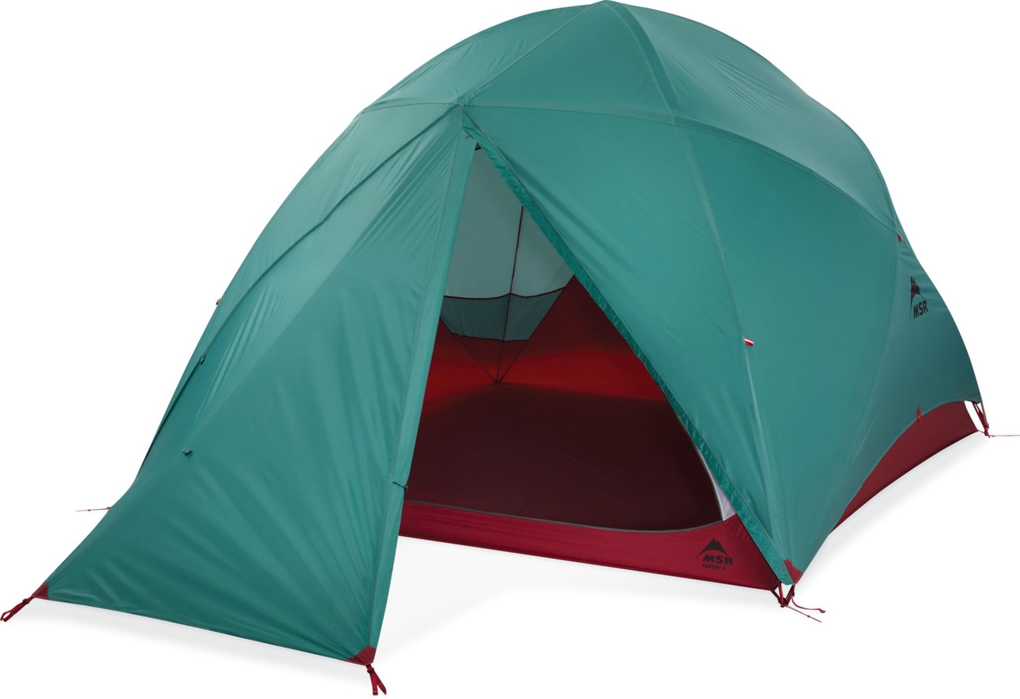 Stort telt for familier og grupper på tur!