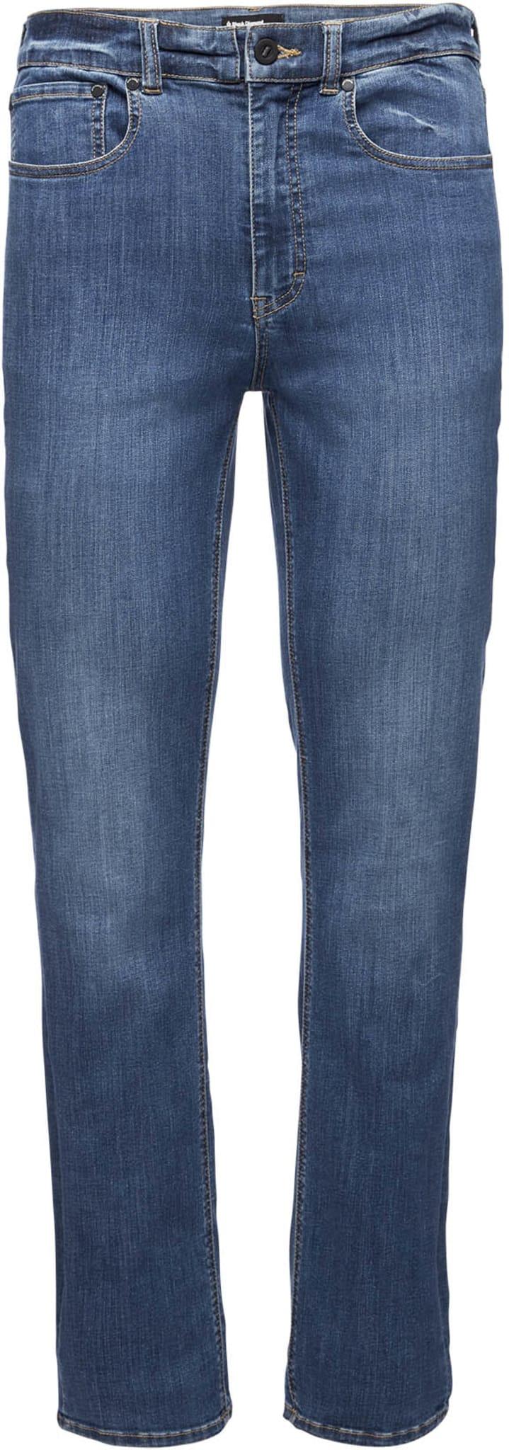 Bukse som ser ut som en jeans men er 100% klatrebukse