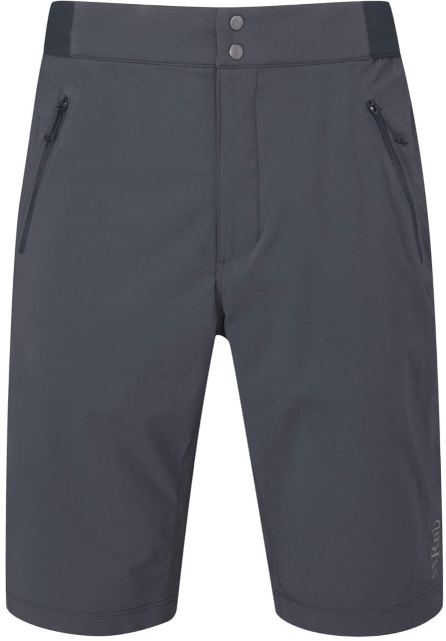 Stretchy og lett softshell shorts