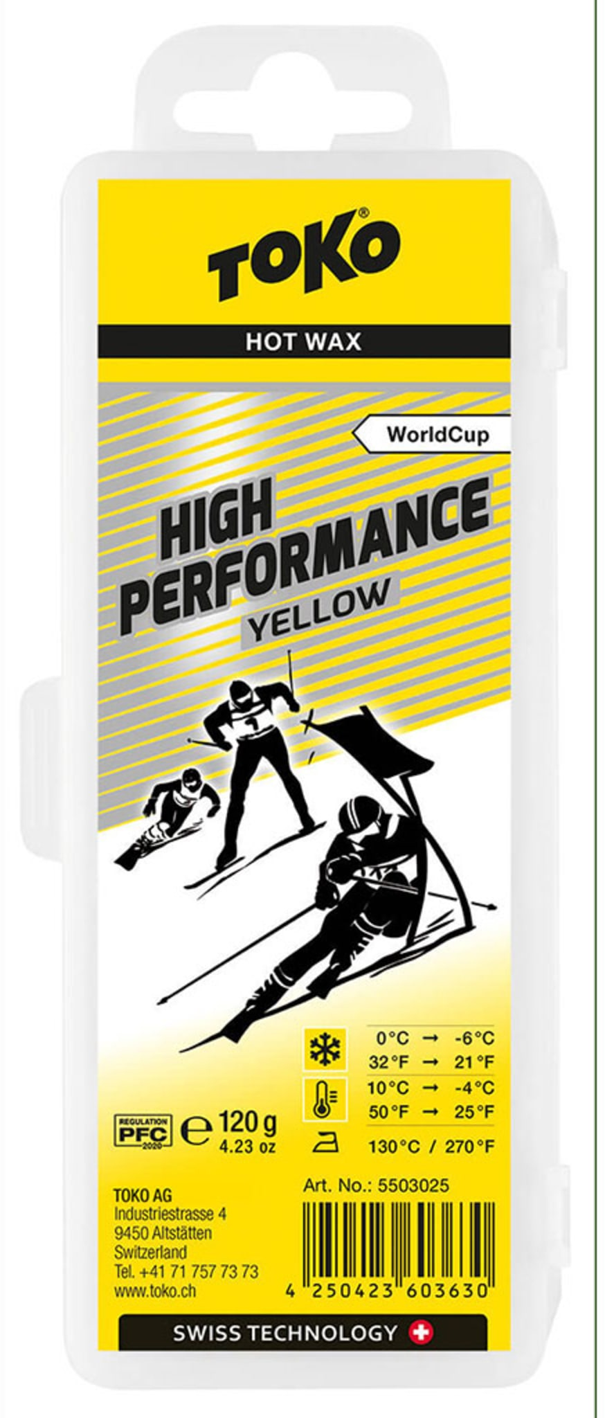 High Performance Yellow 120g