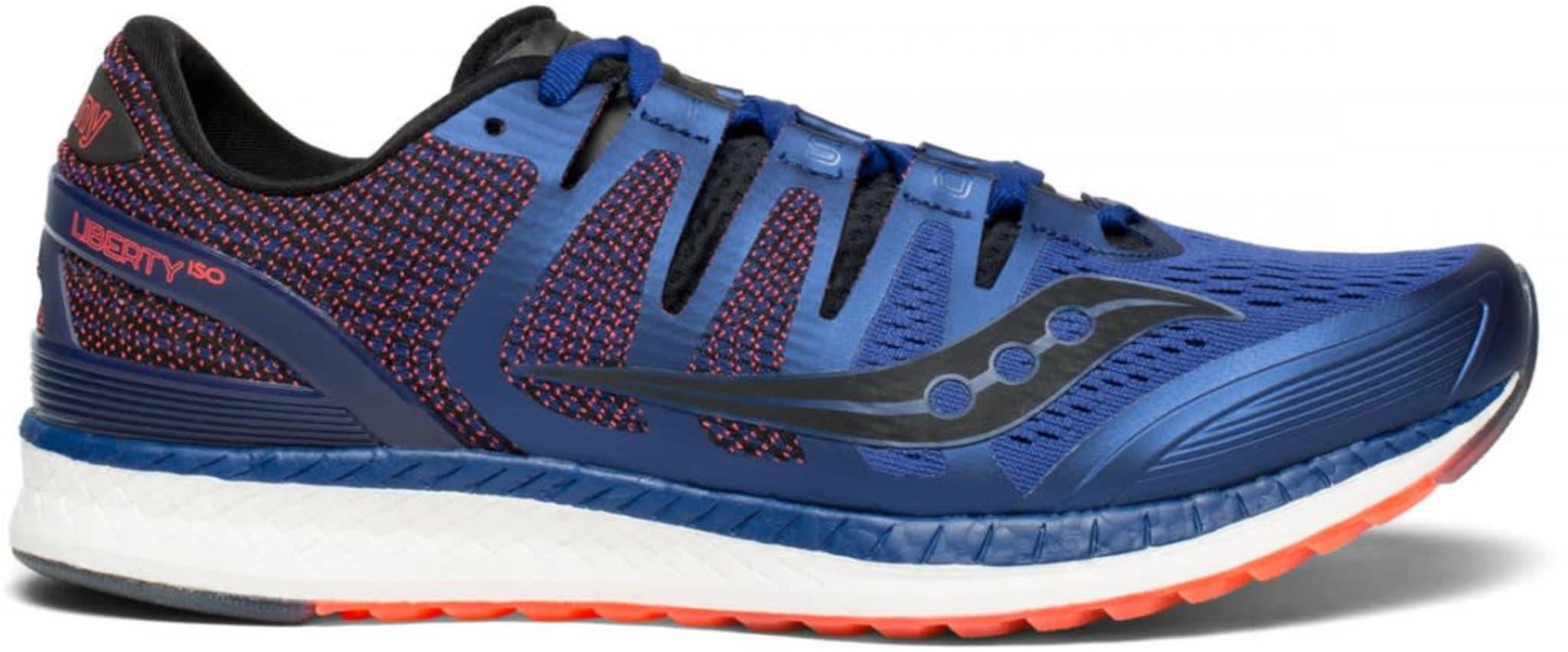 Liberty ISO er en løpesko med myk demping og høy stabilitet.