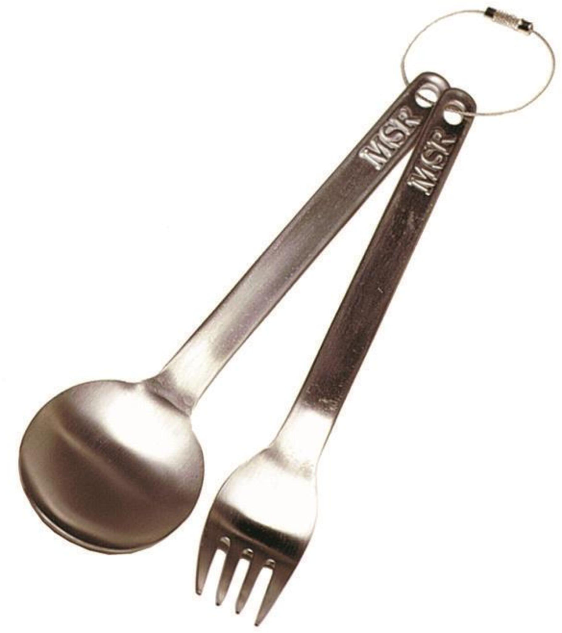 Skje og gaffel til tur!