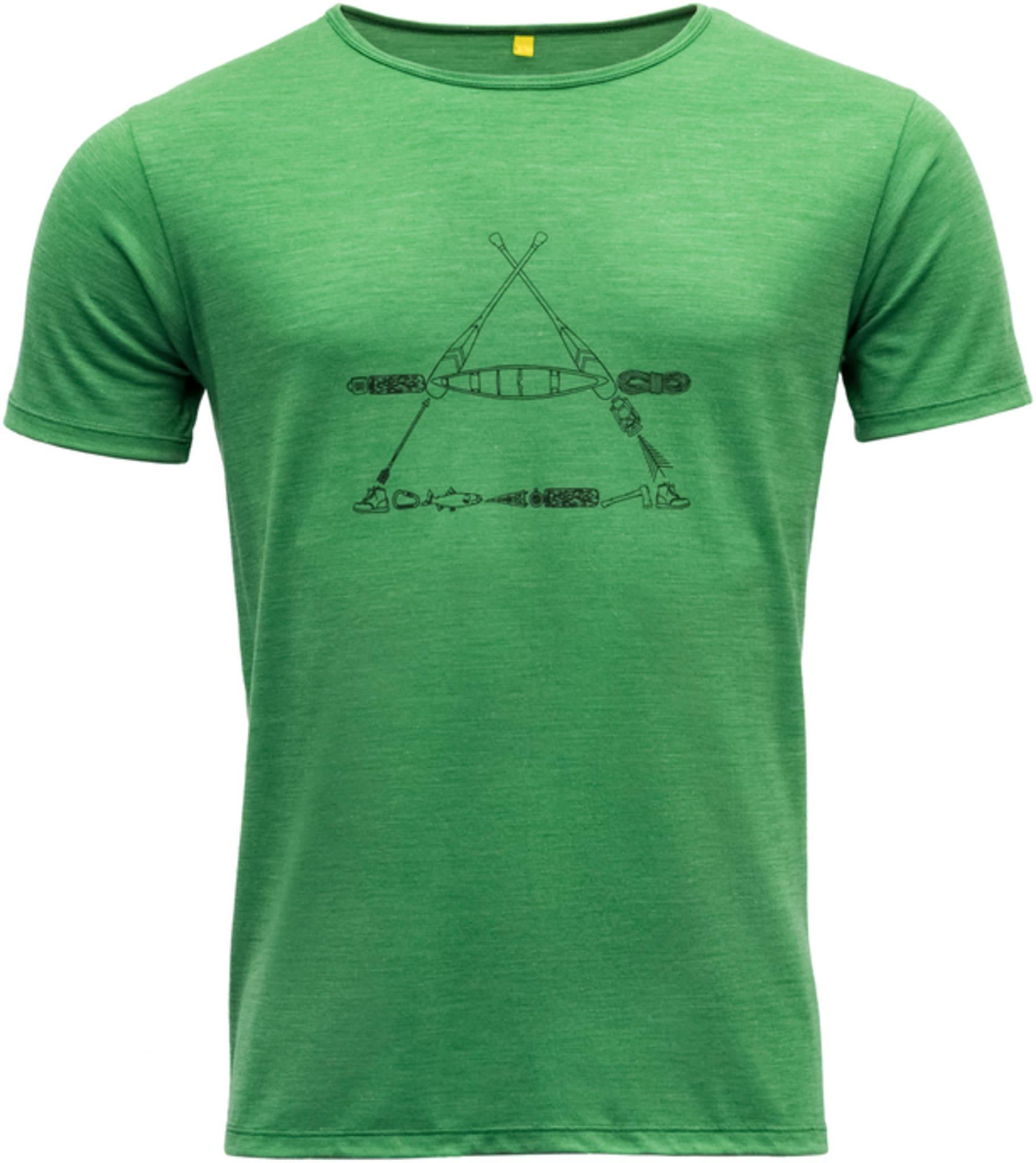 Behagelig t-skjorte for hverdager og fjellturer