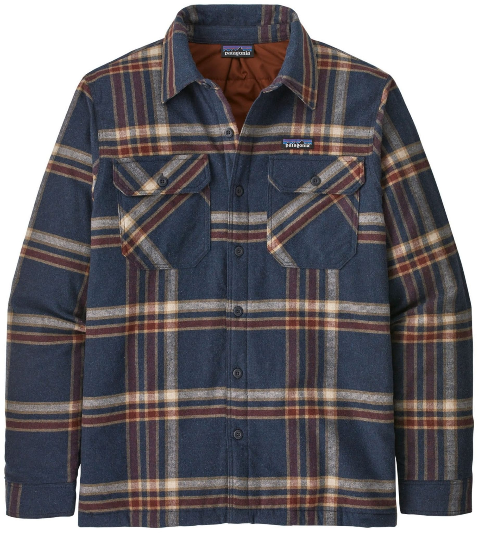 Insulated Organic Cotton Midweight Fjord Flannel Shirt Ms