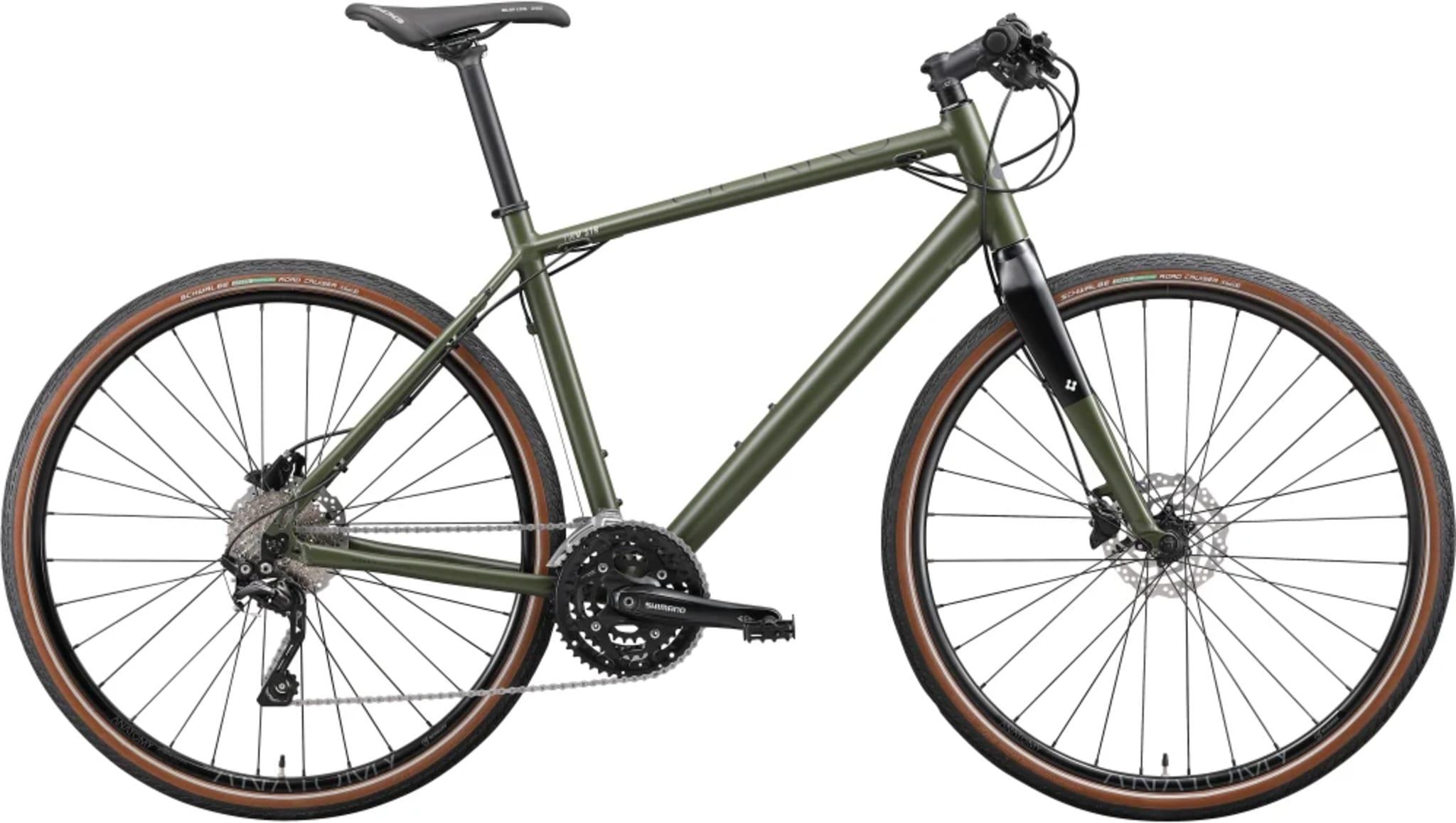 Rask pendler- og treningssykkel for deg som vil sykle langt og fort, men uten å måtte gå veien om en racersykkel med bukkestyre