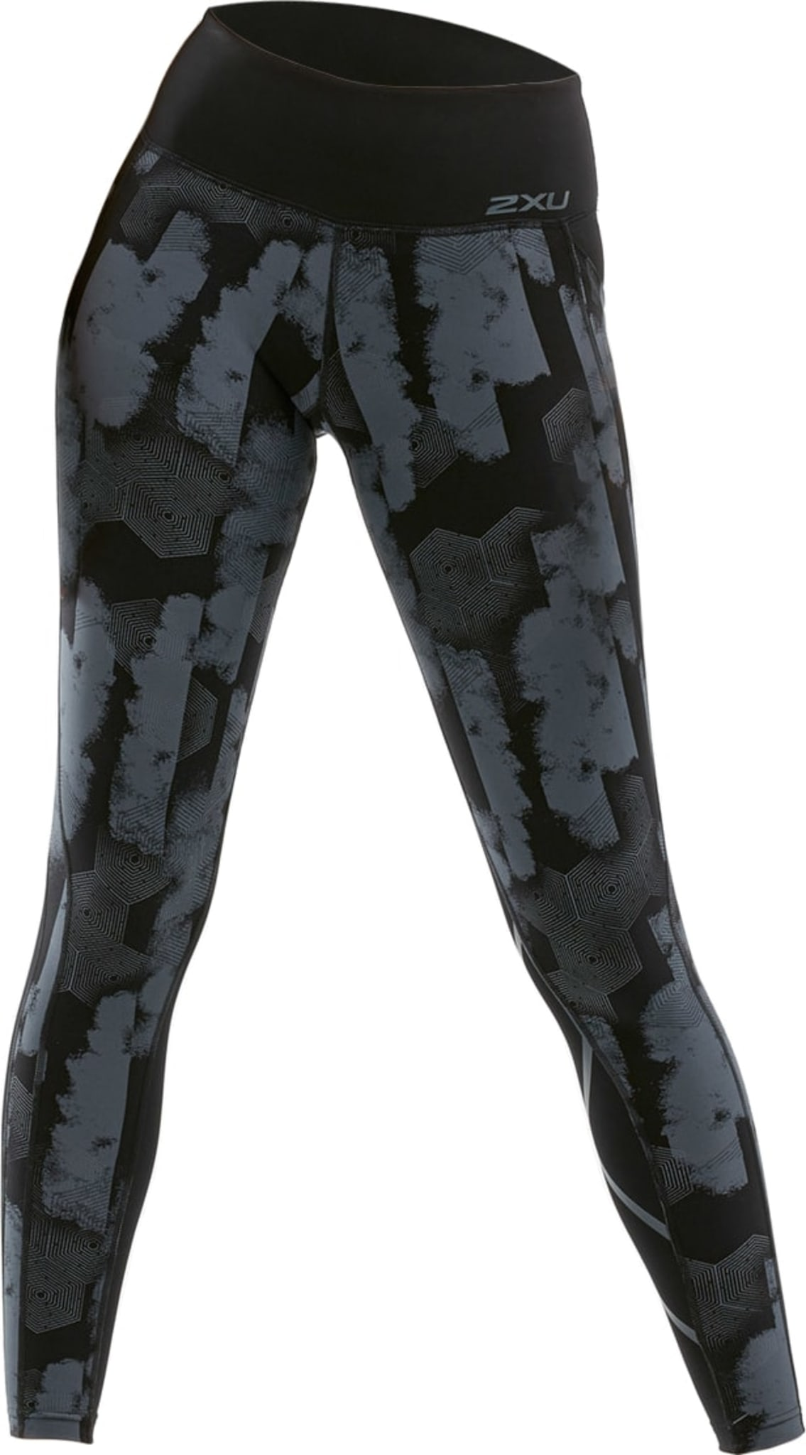 Mid Rise Pocket Compression Tight W