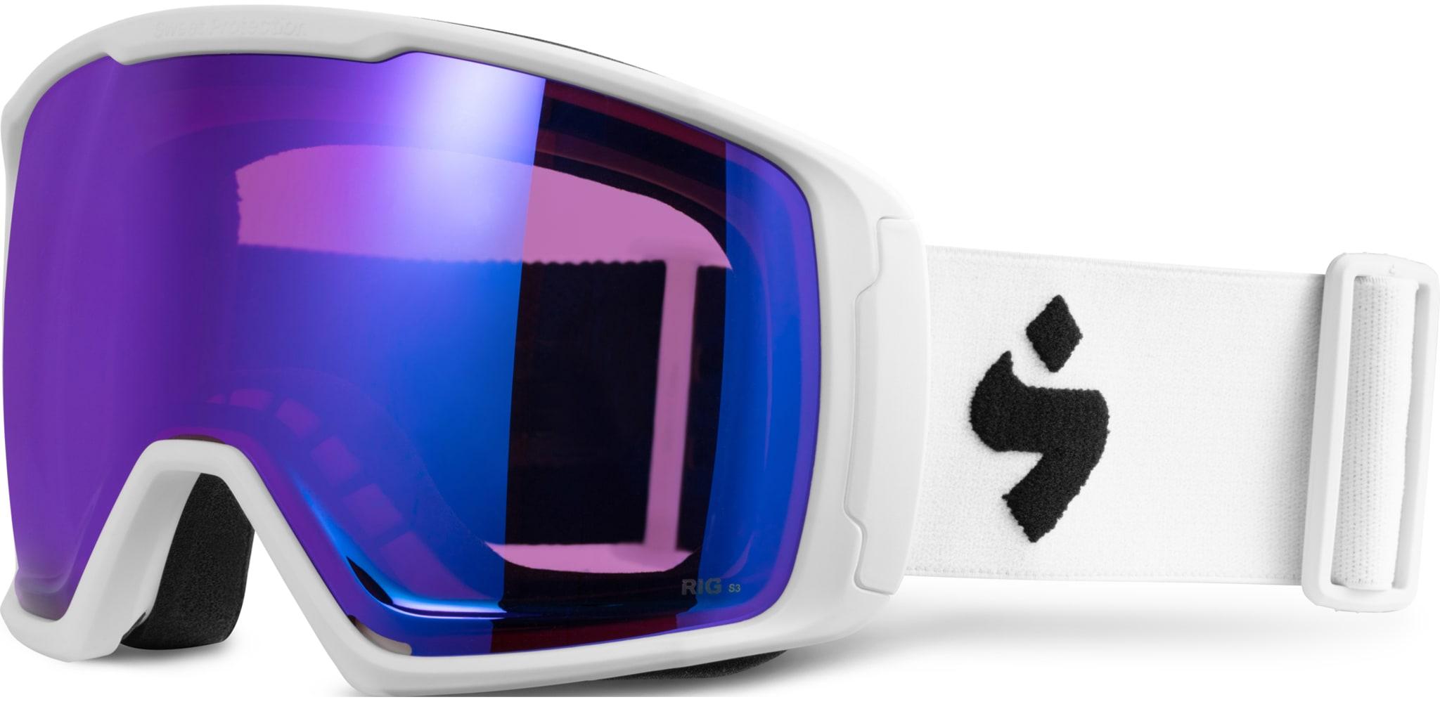 Kompakt og tettsittende brille med dobbelt sett RIG glass