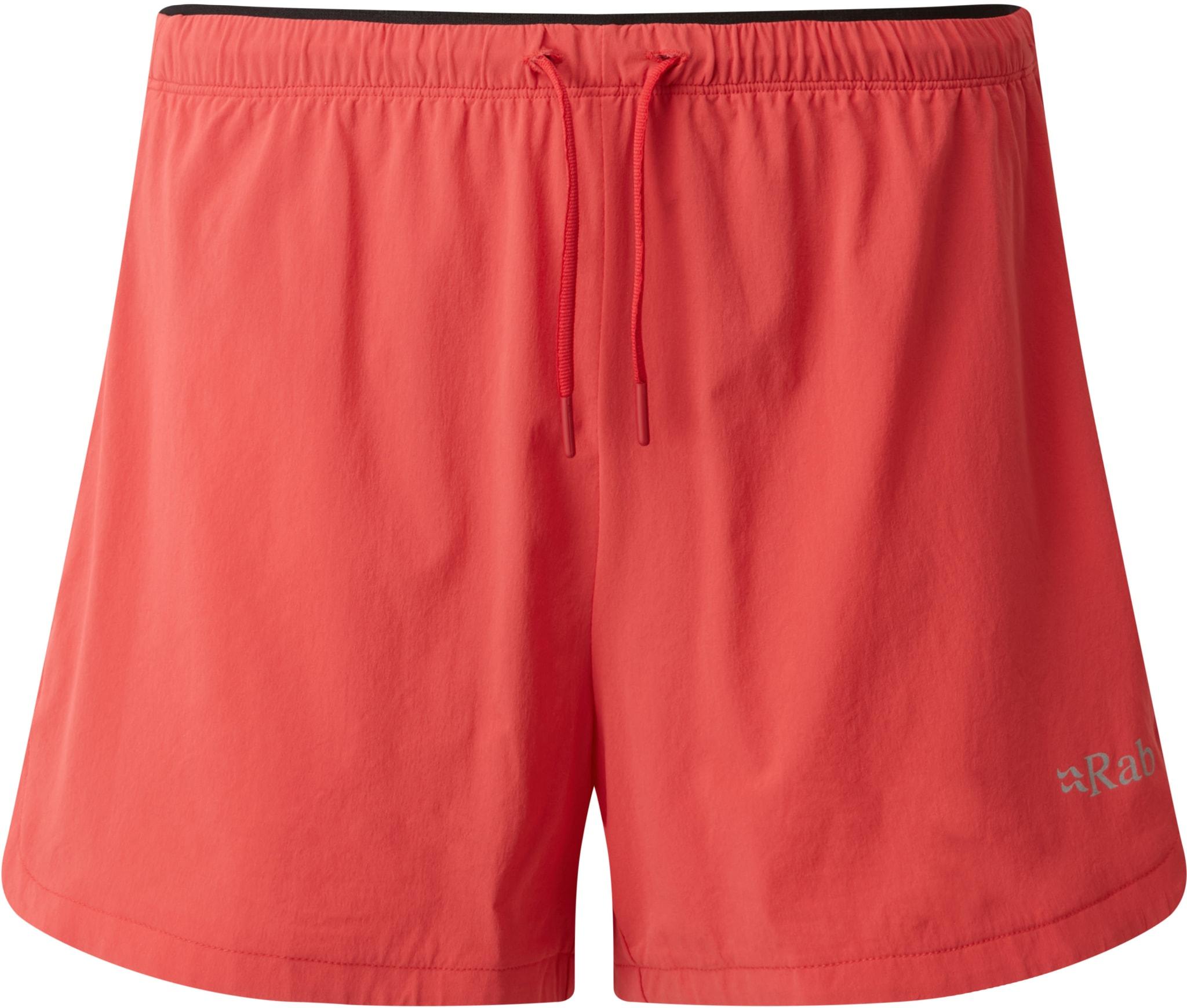 Lett shorts til løping på fjellet eller i skogen