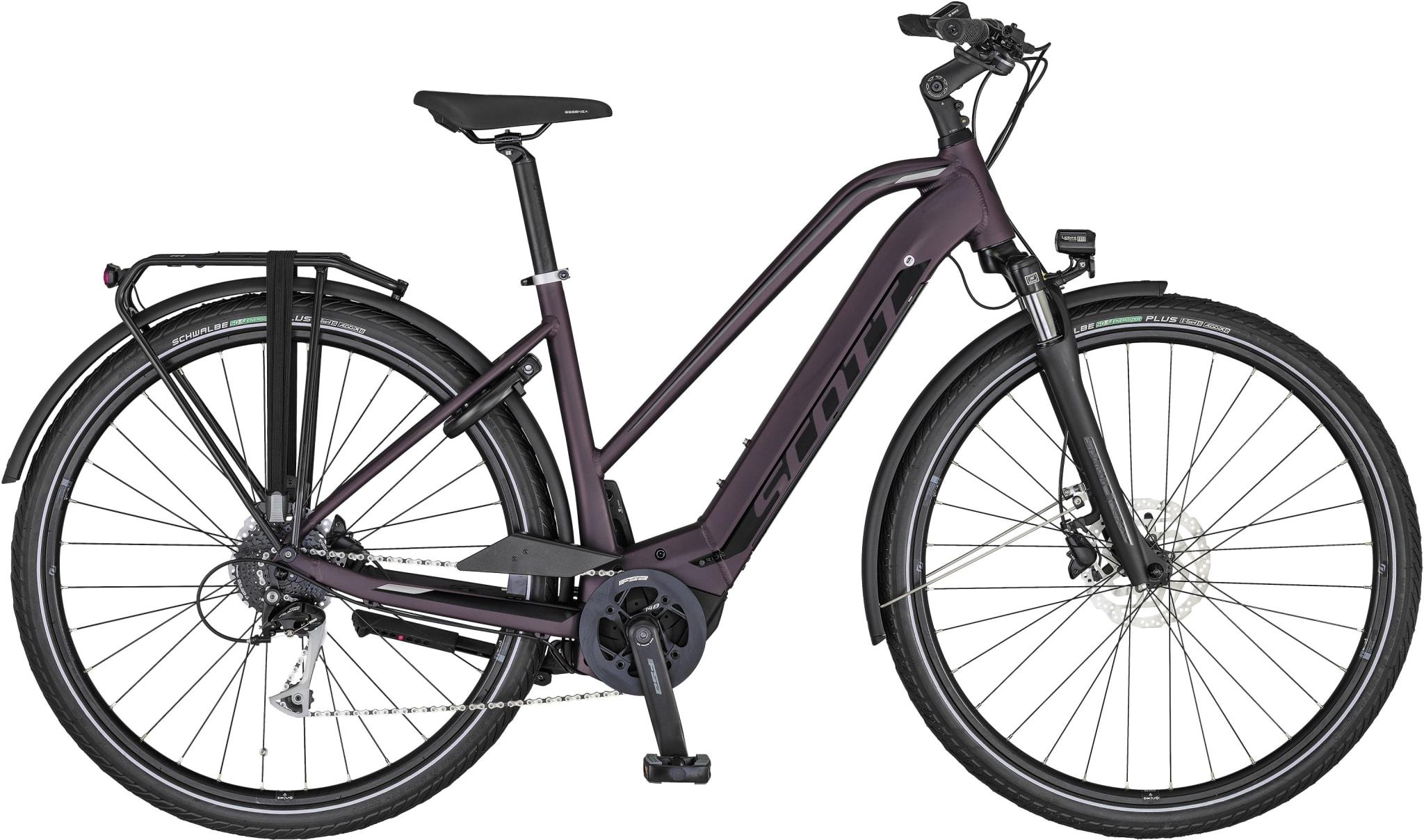 Komfortabel by og pendler el-sykkel!