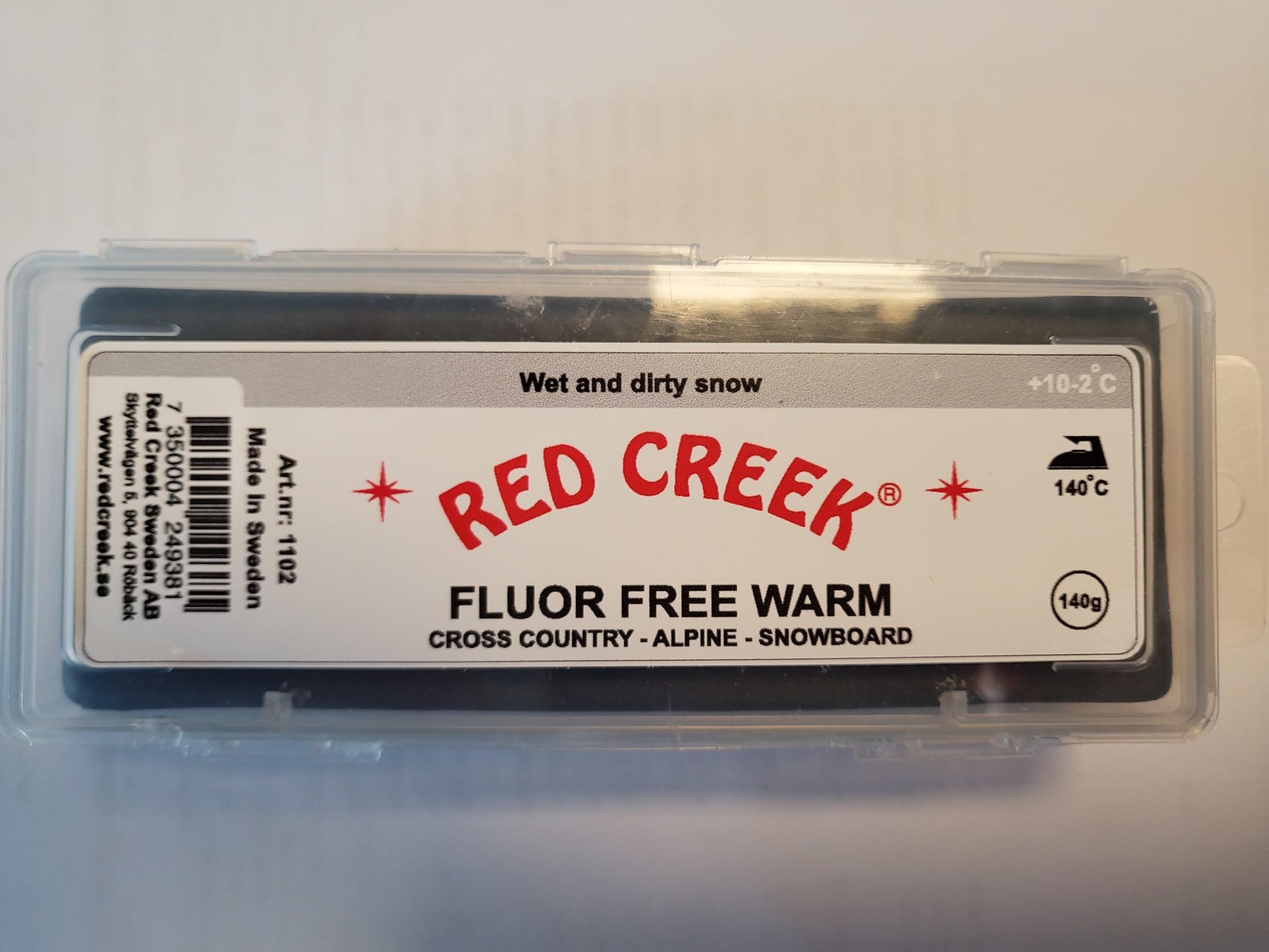Helt ny fluorfri glider fra Red Creek for de fuktige og litt mer fuktige forholdene