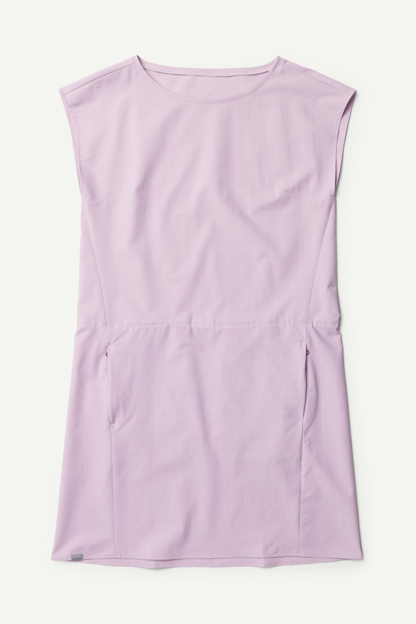 Lett og komfortabel kjole i softshellmateriale