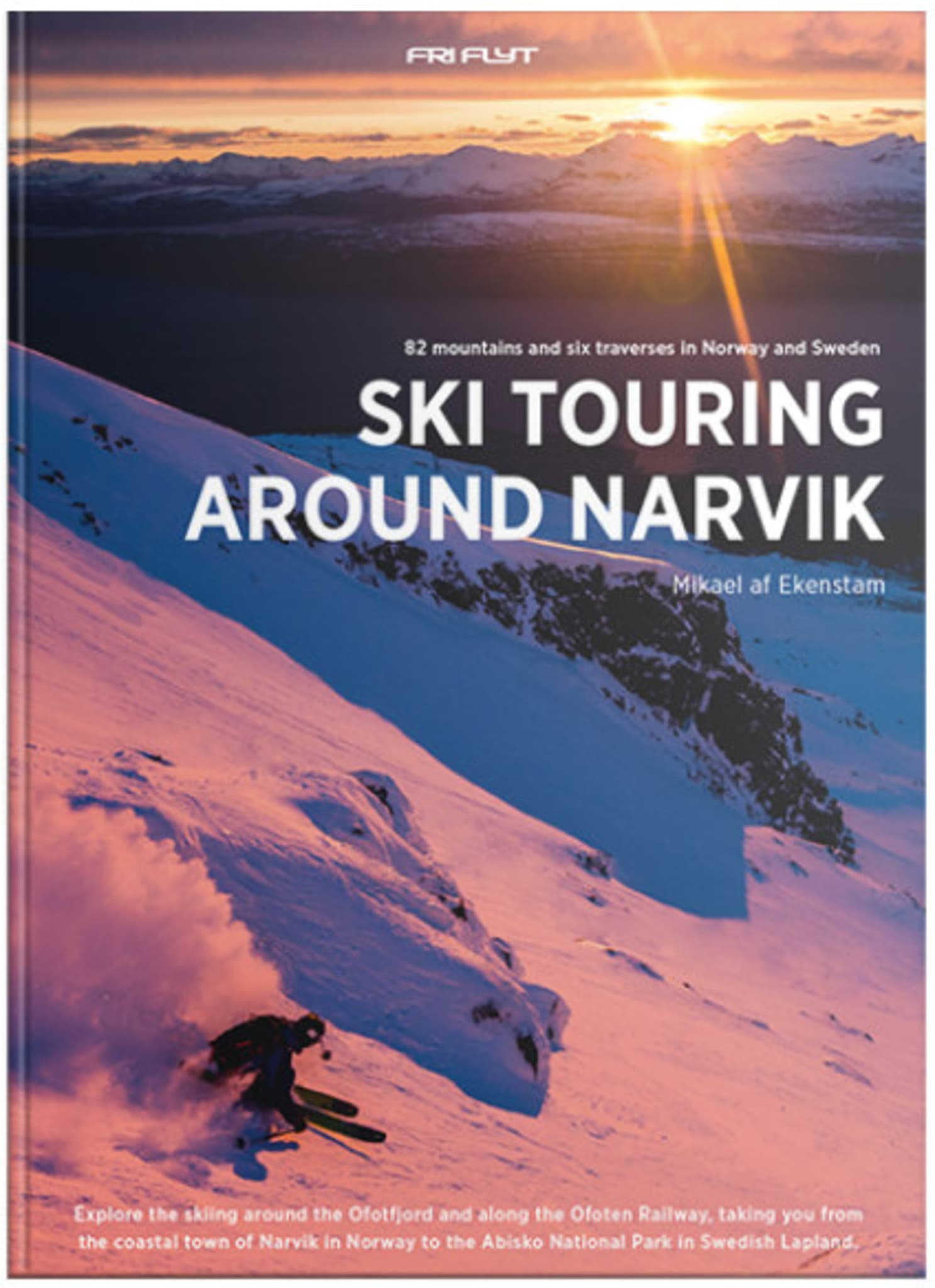 Ski touring around Narvik