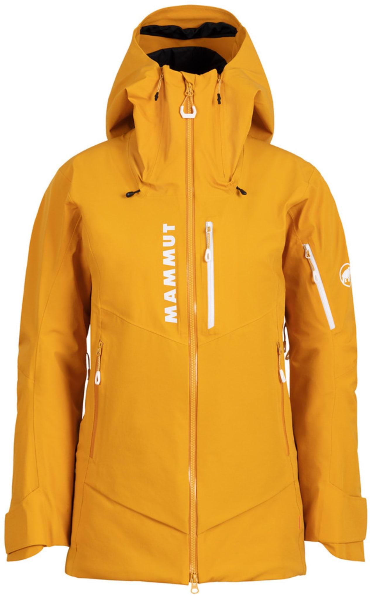 Freeride jakke med syntetisk fiber