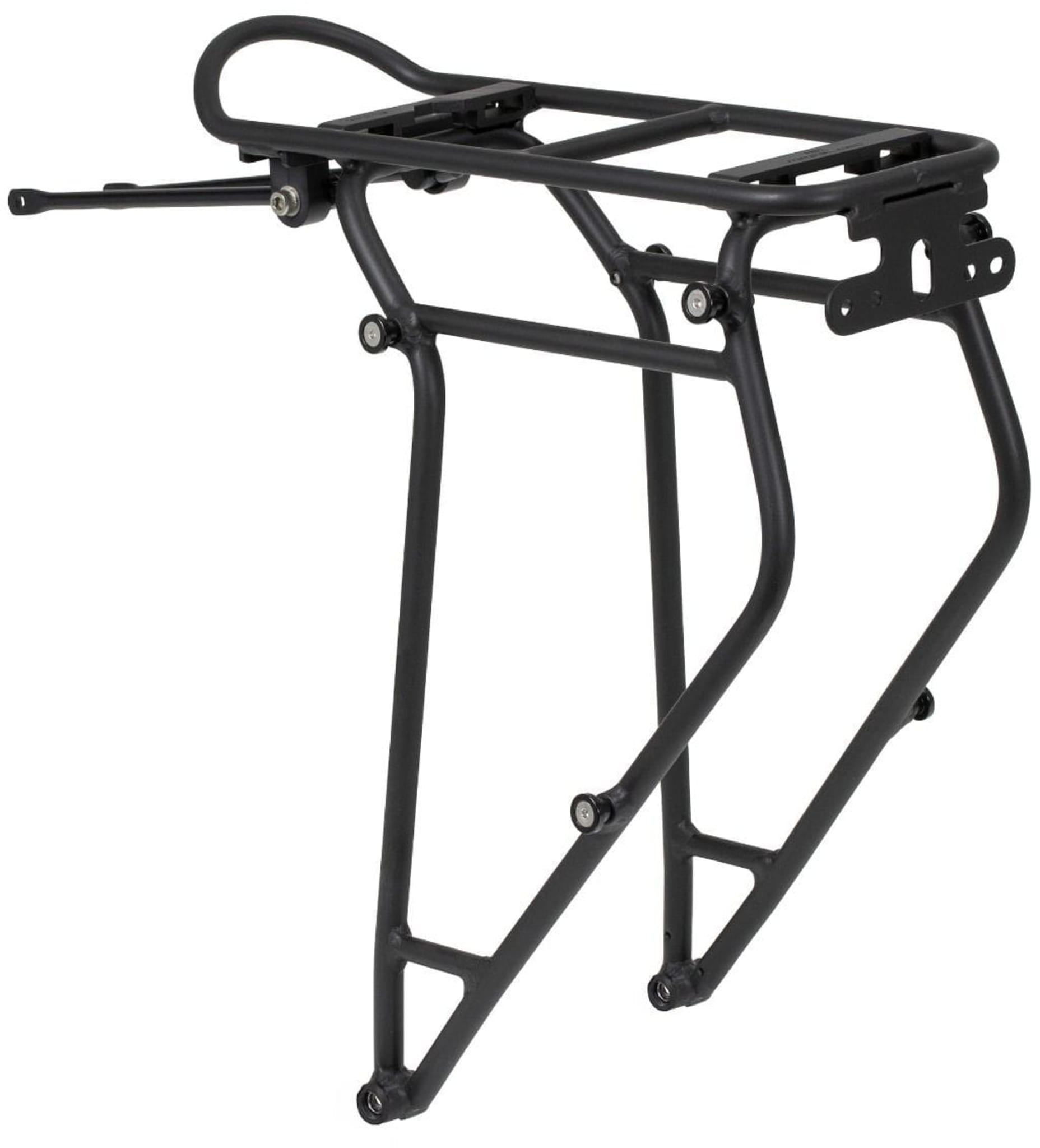 Bagasjebrettet Rack Three fra Ortlieb er et høykvalitetsbrett som er kompatibelt med Ortliebs sykkelvesker.