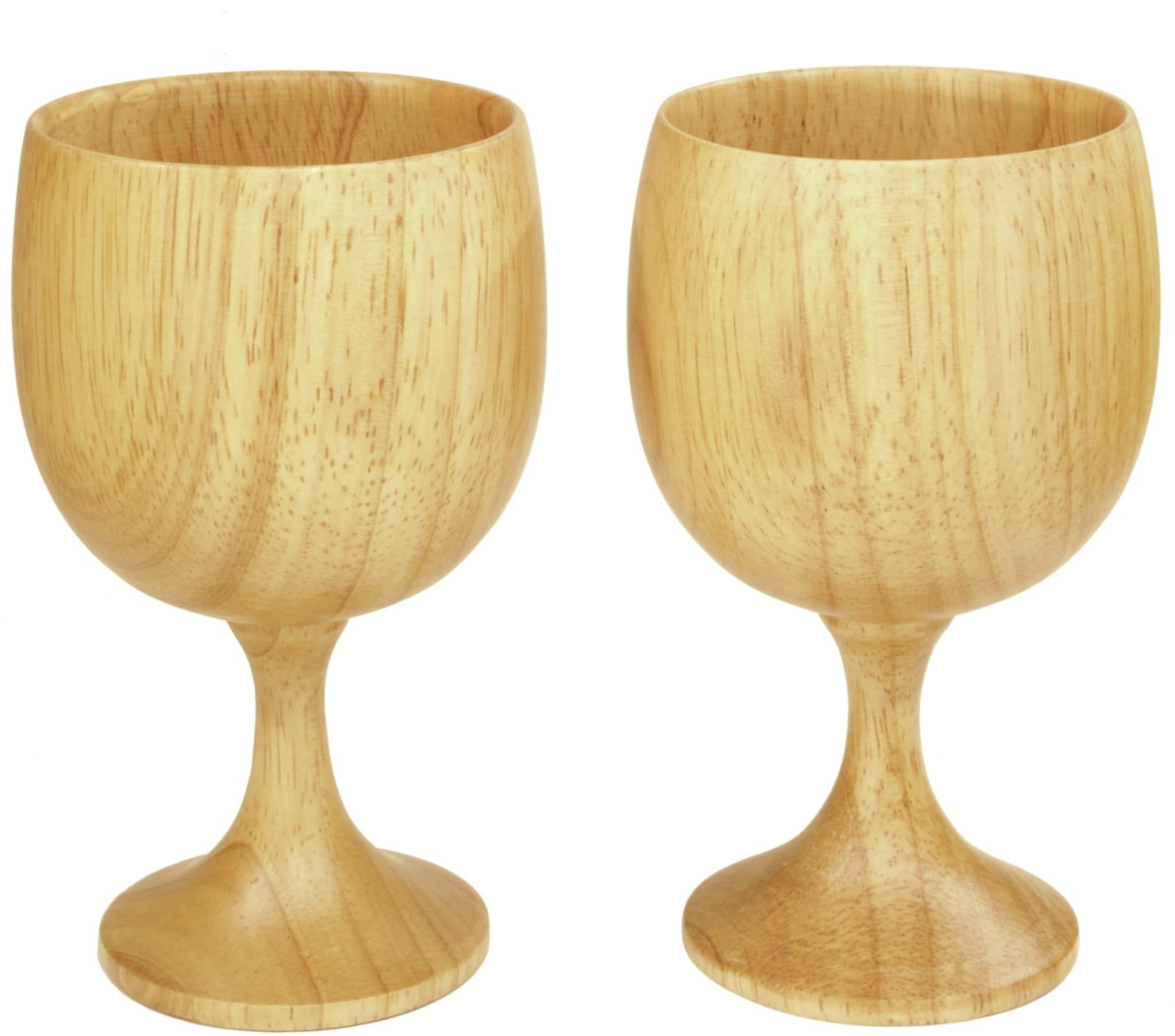 Fine og solide glass i naturlig tremateriale!