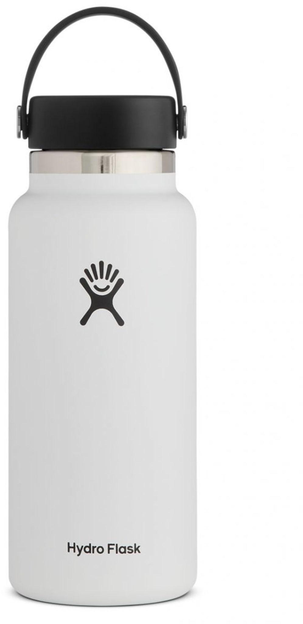 Stor, isolert drikkeflaske på en liter
