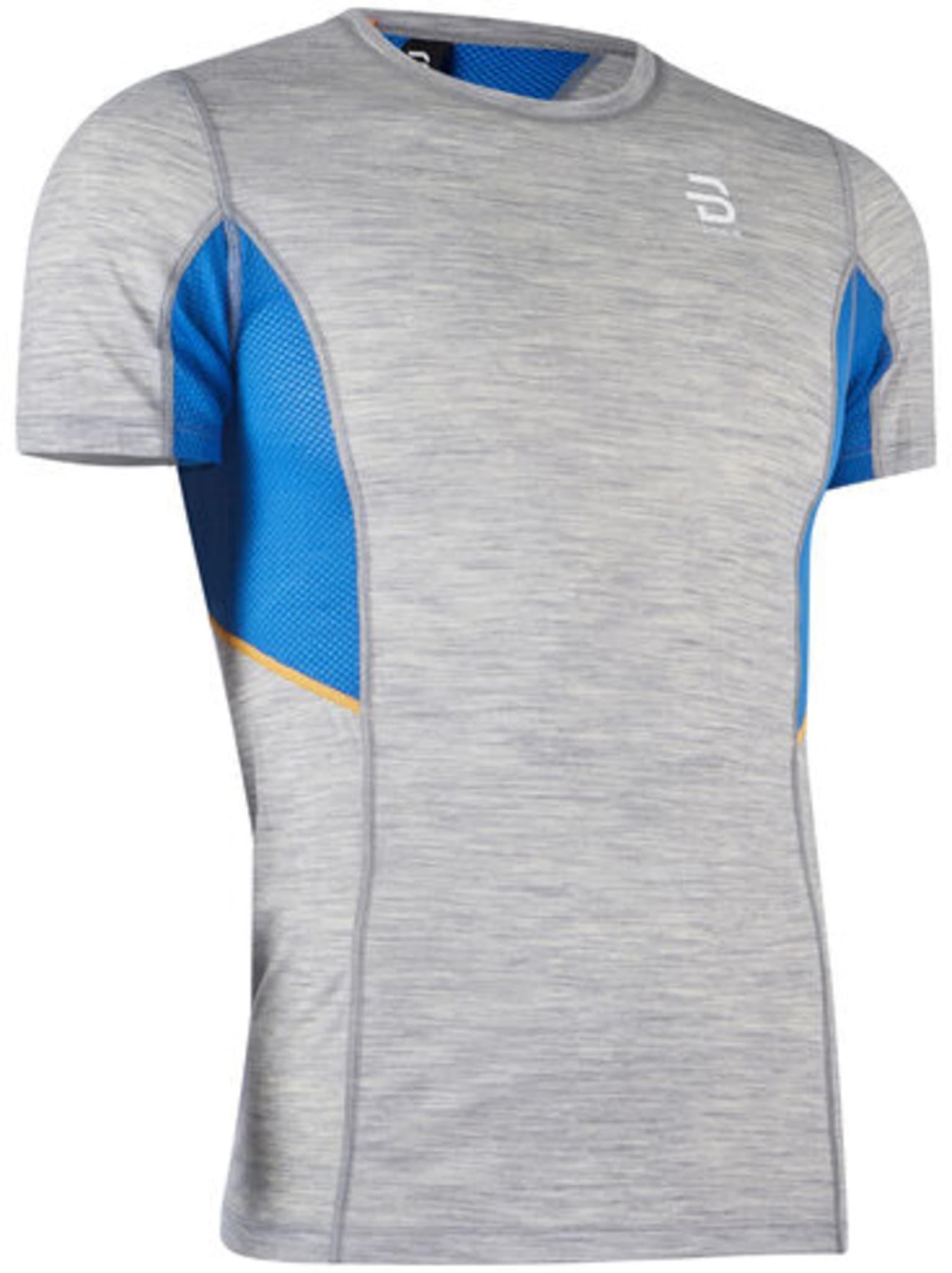 En tynnere baselayer t-skjorte til herre i ullkvalitet for trening i alle temperaturer.