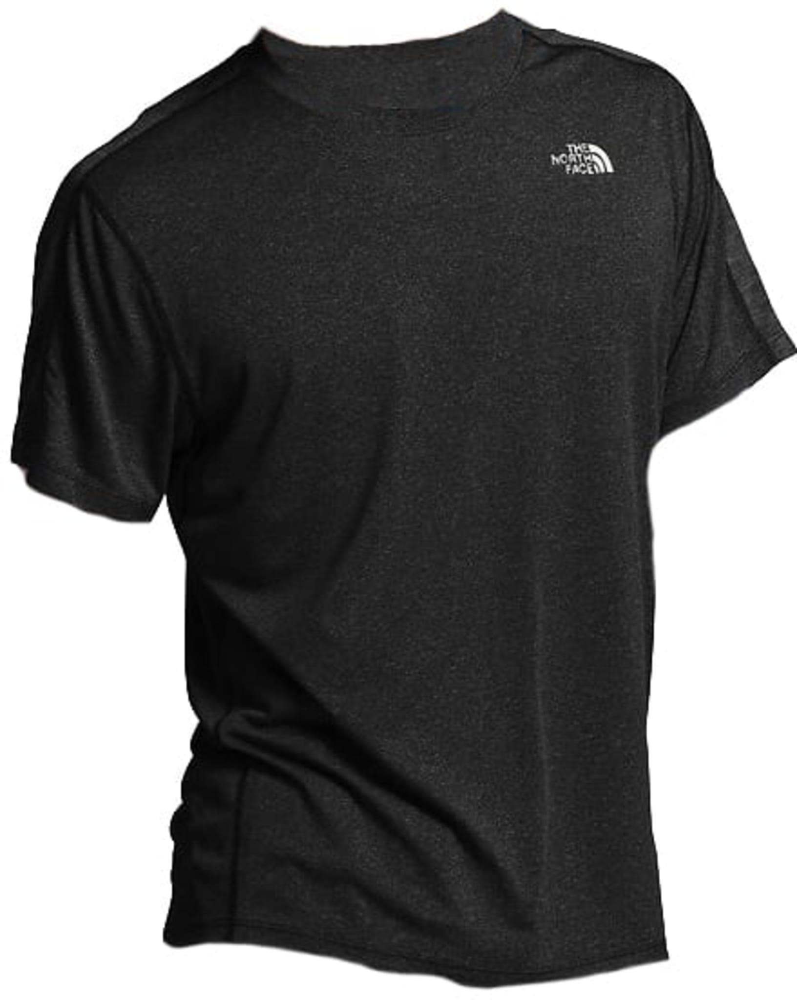 Denne t-skjorten til The North Face er utrolig myk og lett, og holder deg tørr og avkjølt under løpeturer på varme sommerdager.