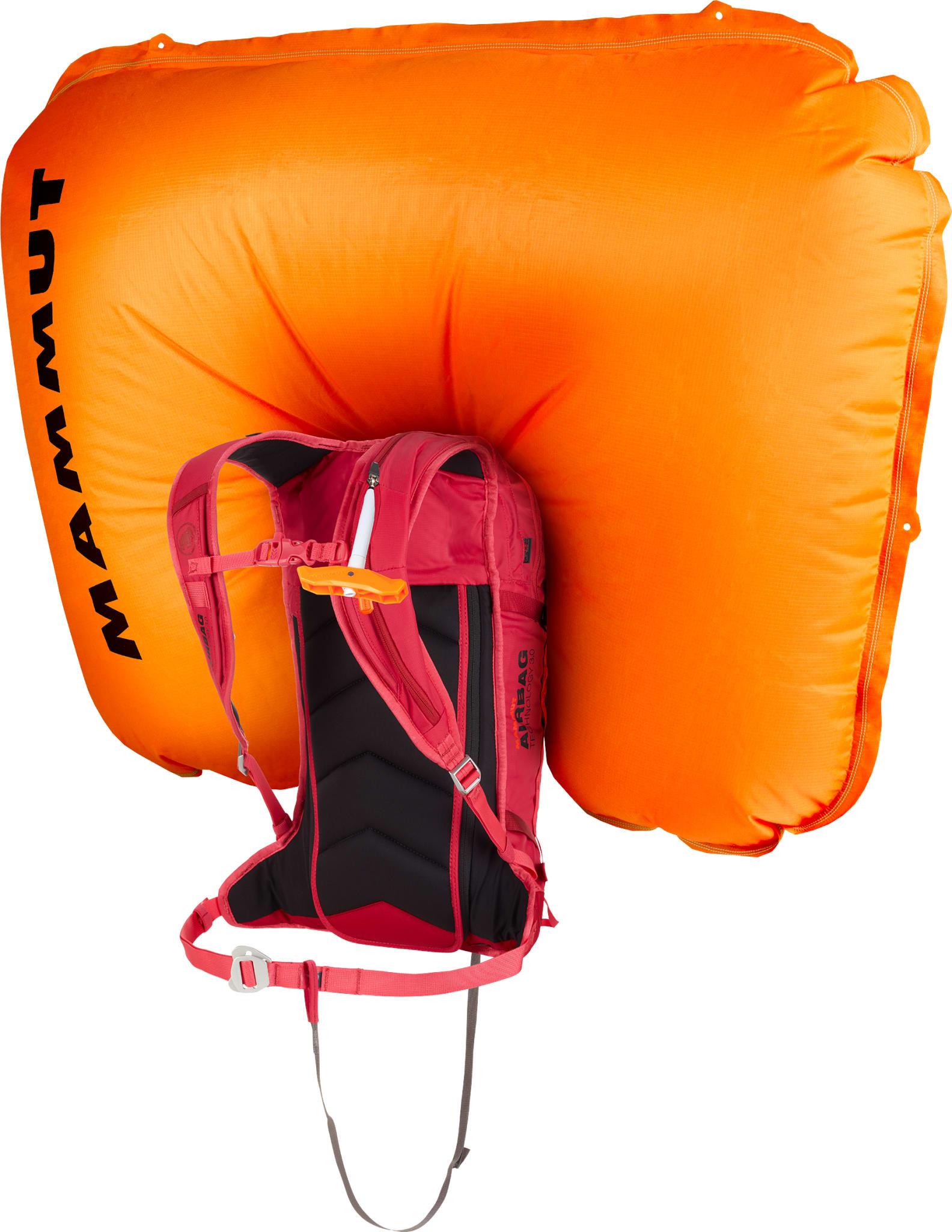 Lett ballongsekk for heisbasert skikjøring og kortere toppturer