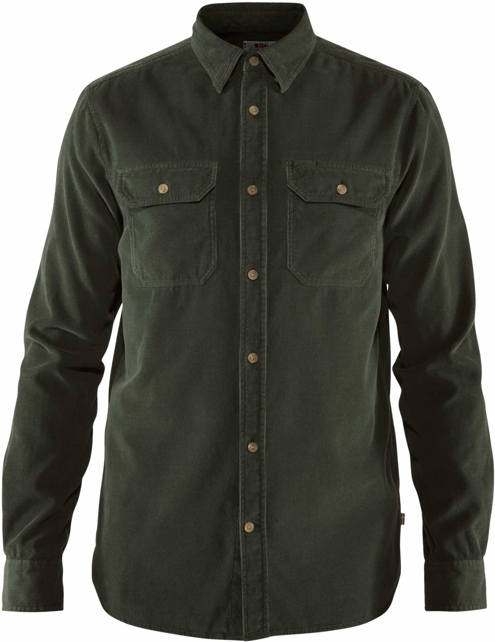 Deilig kordfløyelskjorte i økologisk bomull