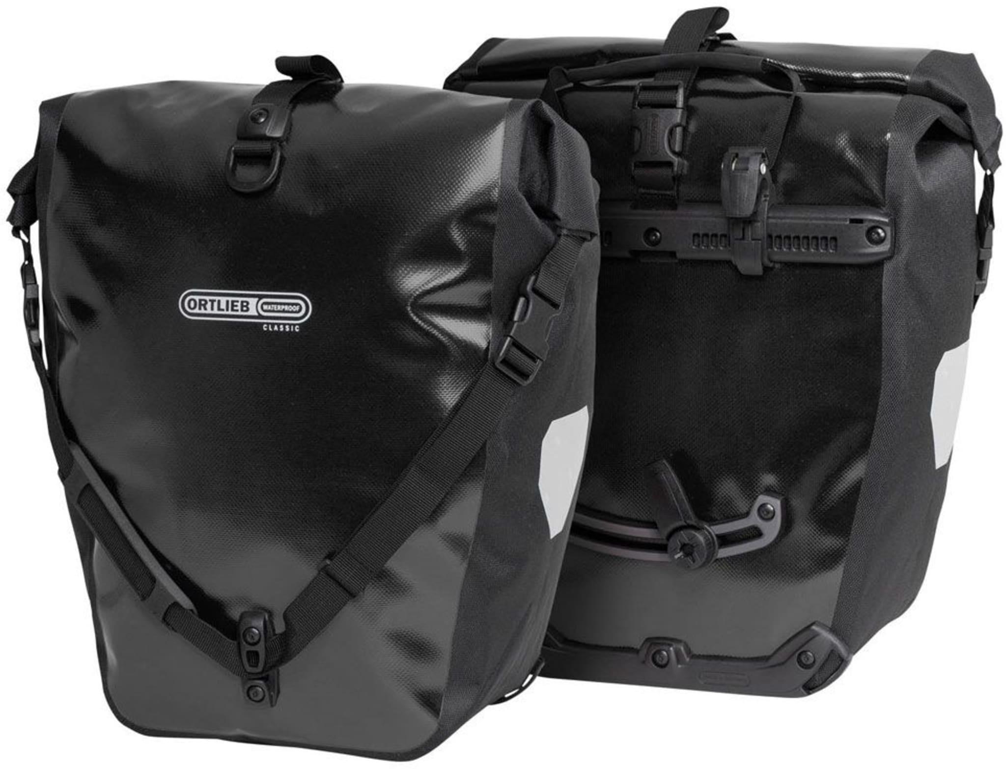 Stor og god sykkelbag med vanntett membran for ekstra beskyttelse mot elementene