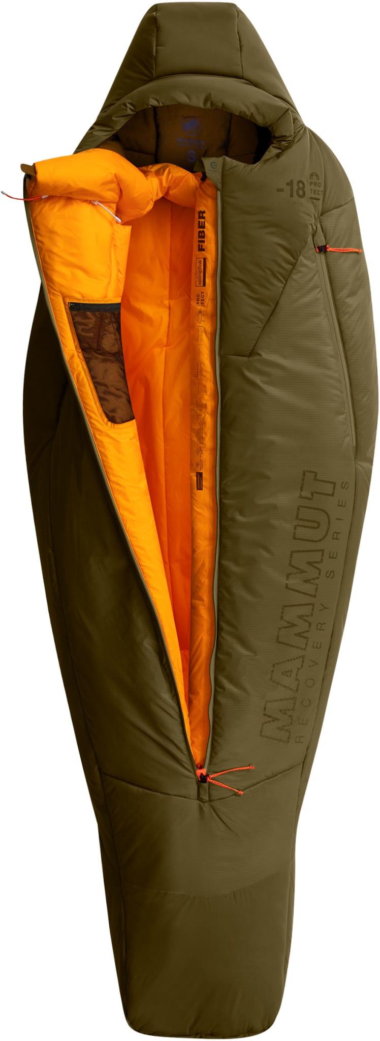 Innovativ vintersovepose med syntetfiberisolasjon
