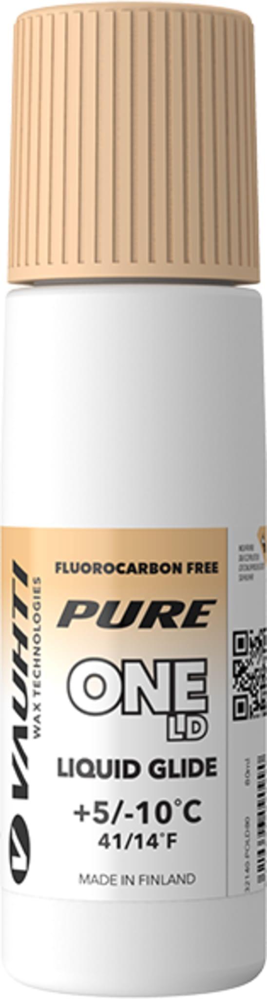 Fluorfri glider i temperaturområdet fra +5/-10 grader for langdistanseløperne