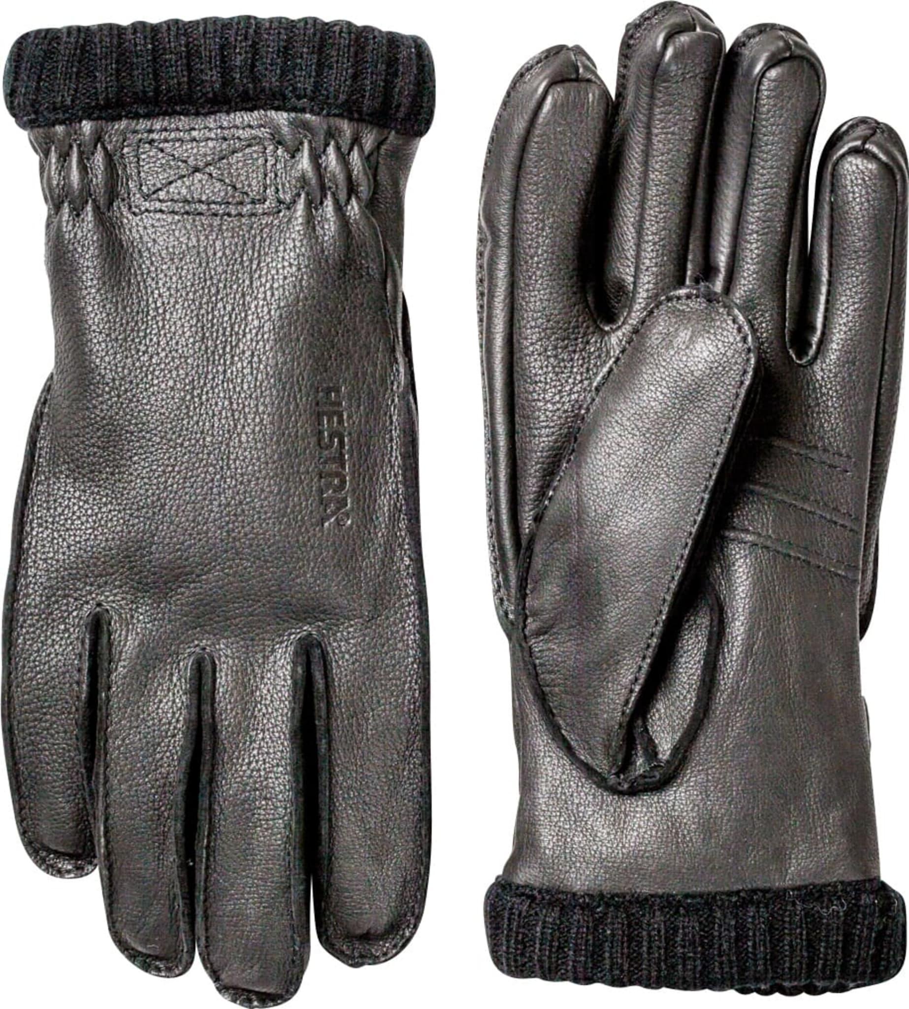 Myke og varme hansker i hjorteskinn